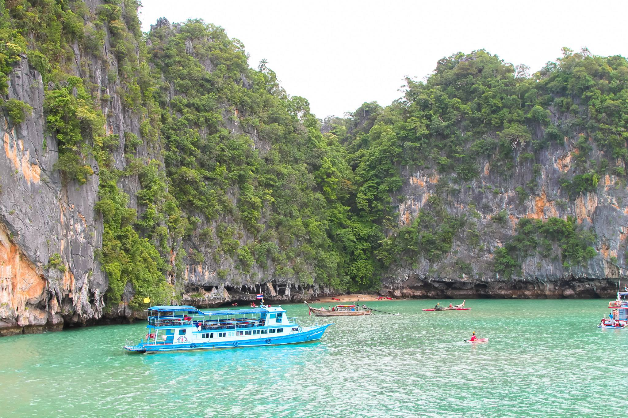 Things To Do When Sailing From Island To Island in Phang Nga Bay, Phuket, Thailand - PART 1 (18)