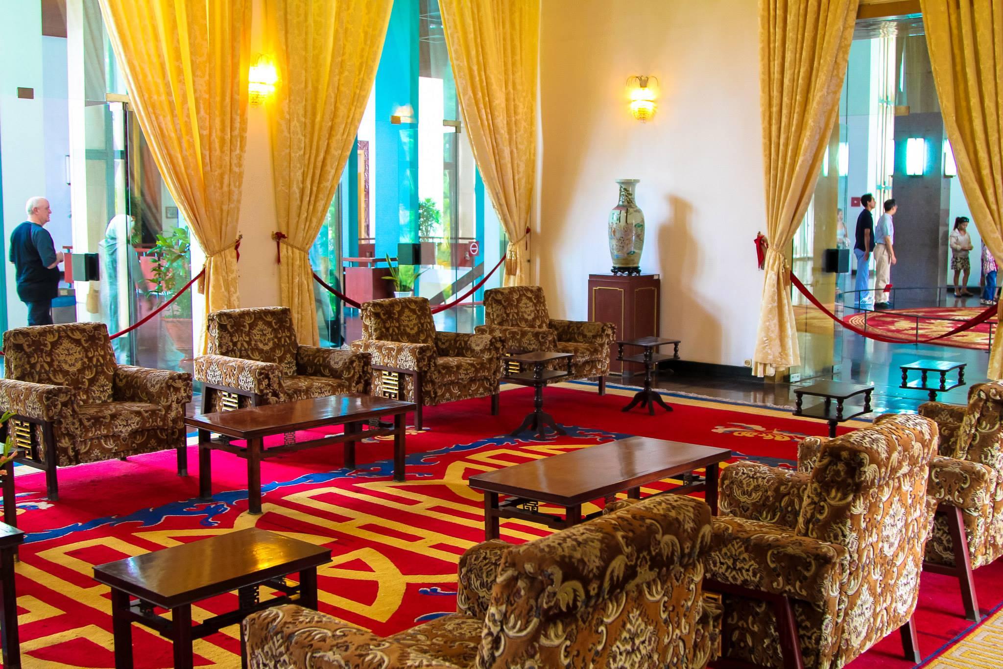 Photo Diary: Visiting Independence Palace in Saigon, Vietnam (7)