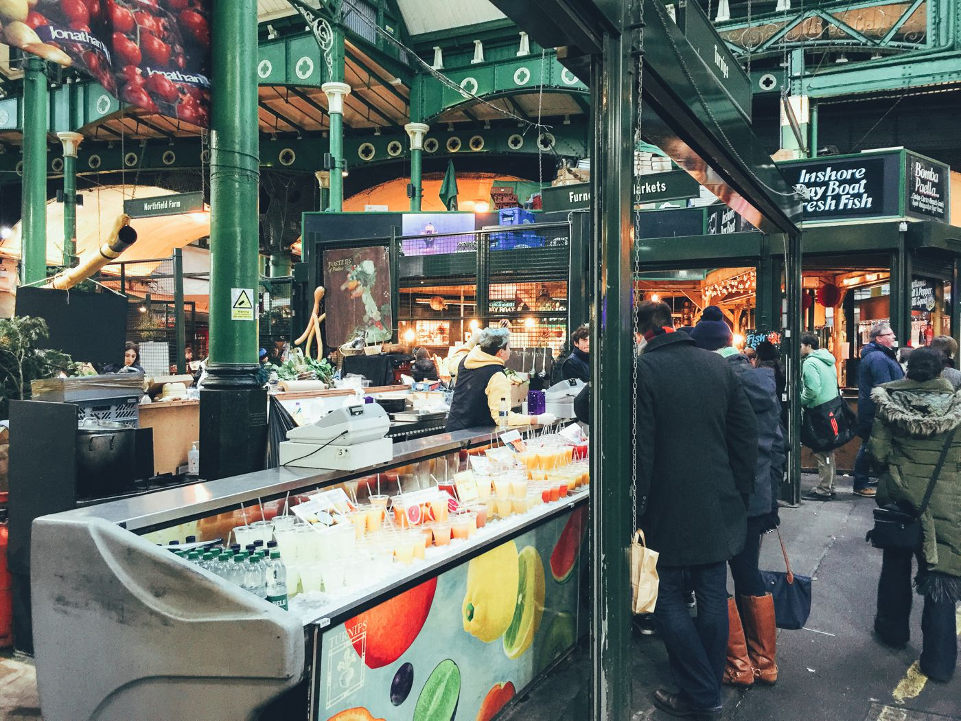 Hog Rolls and Hot Cider in Borough Market, London (3)