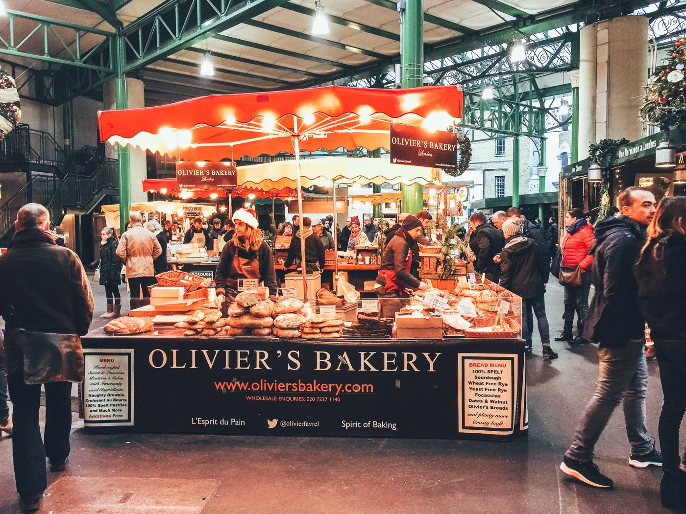 Hog Rolls and Hot Cider in Borough Market, London (16)