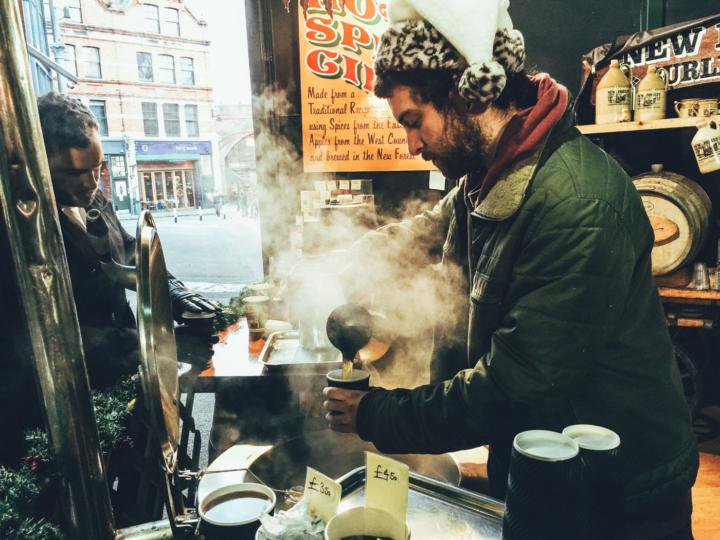 Hog Rolls and Hot Cider in Borough Market, London (18)