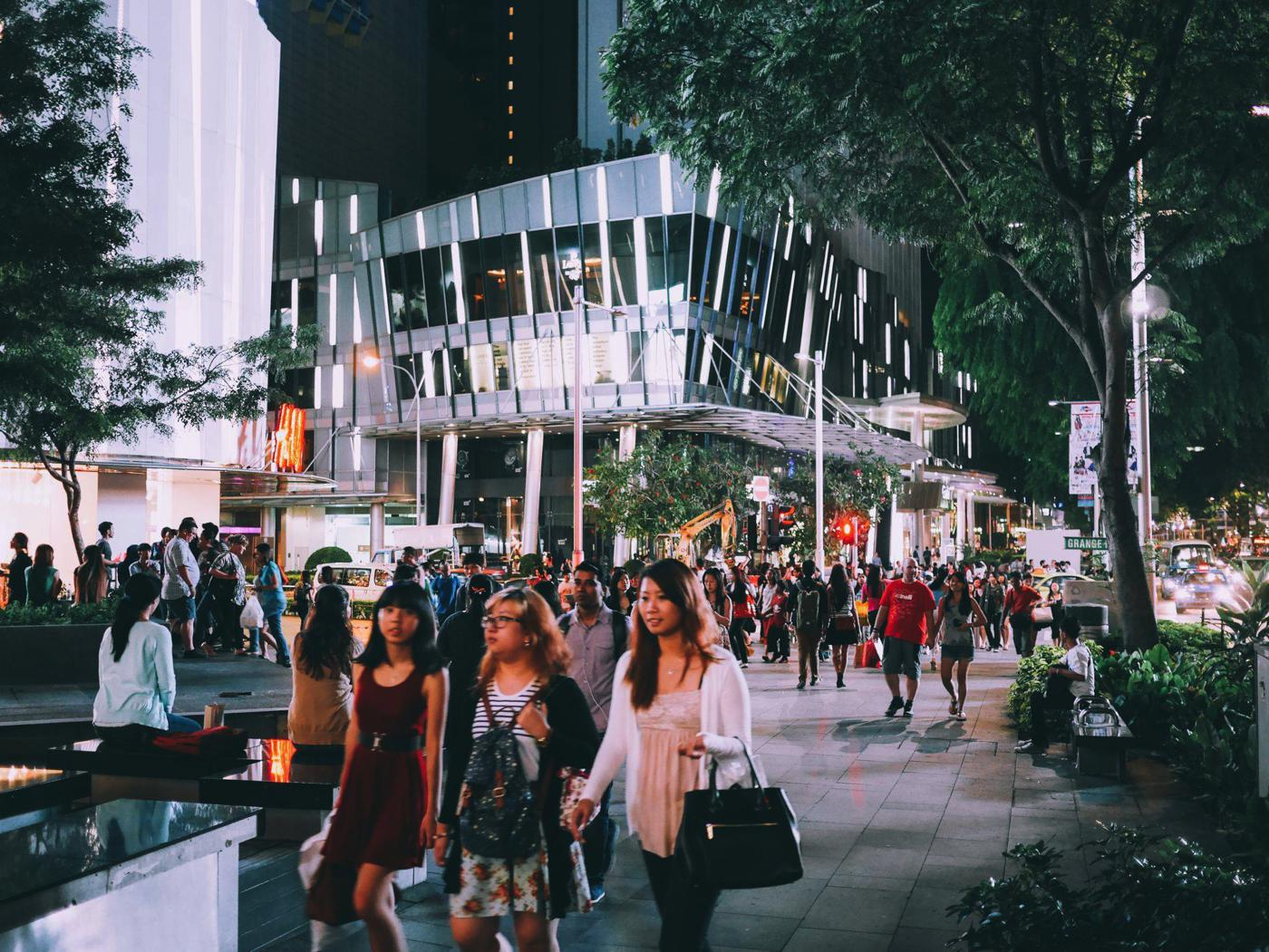 Orchard Road, Singapore Travel on Hand Luggage Only (5)
