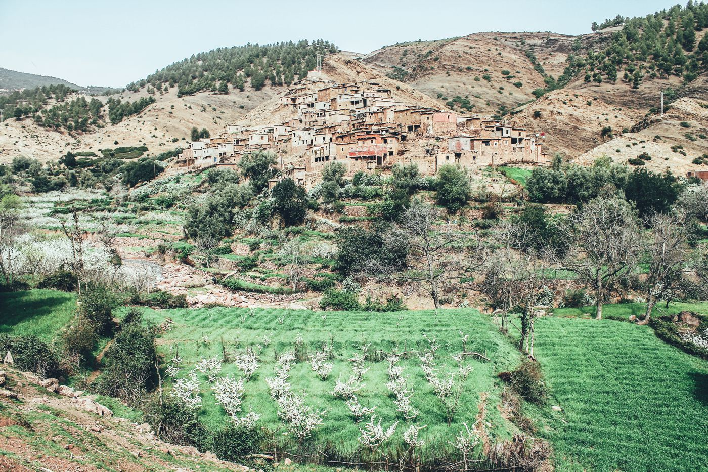 An Afternoon In A Berber Village in Morocco (1)