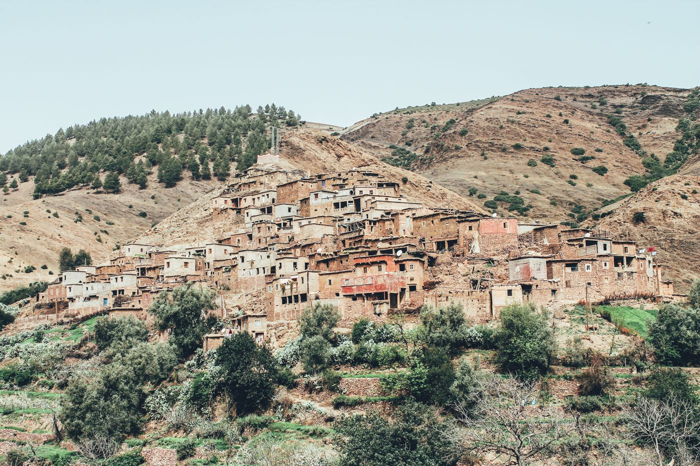 An Afternoon In A Berber Village in Morocco (2)