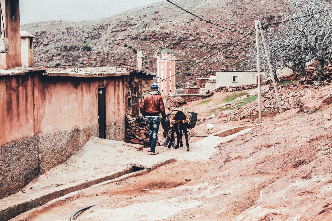 An Afternoon In A Berber Village in Morocco (23)