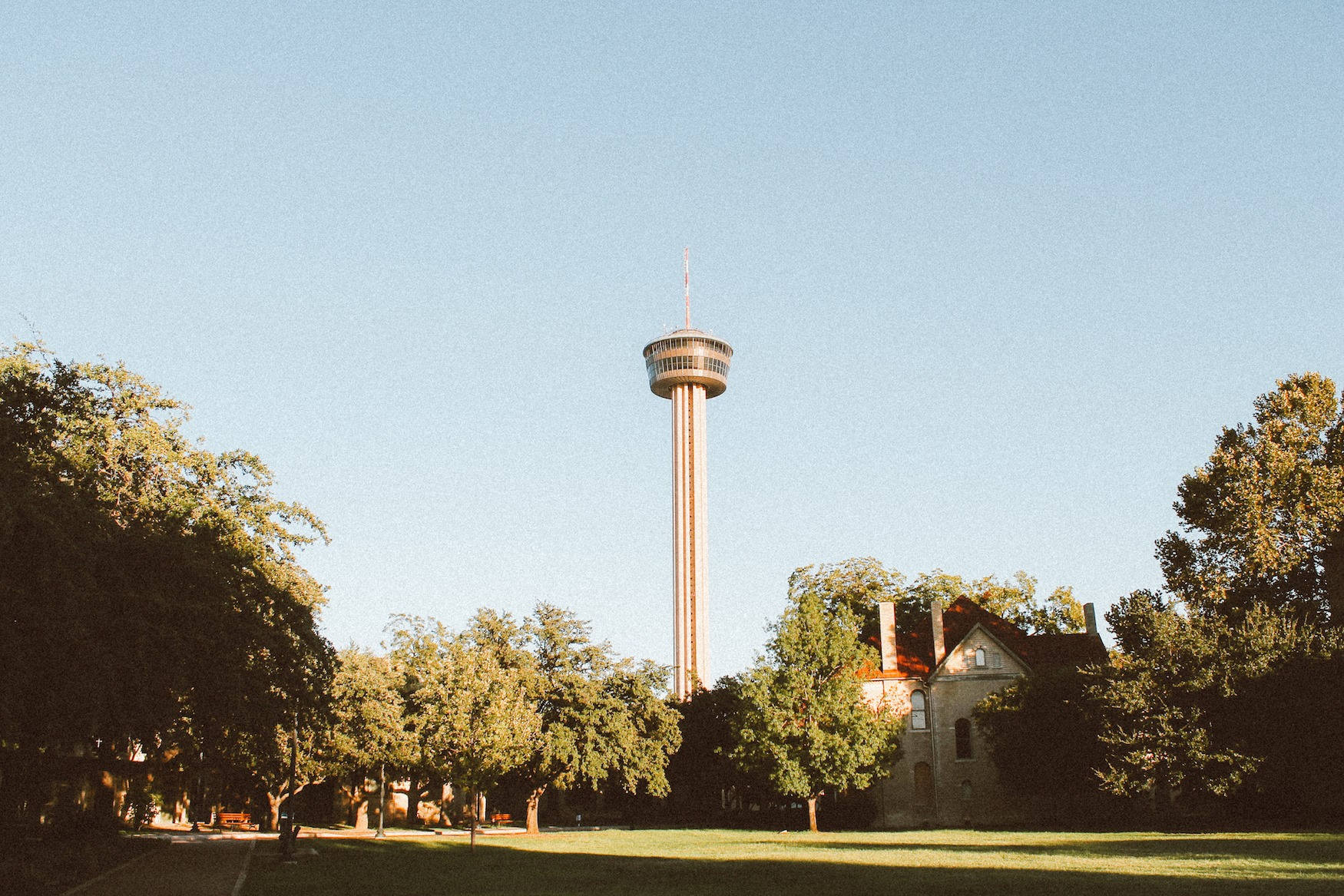 Sunset in San Antonio at The Tower of The Americas (1)
