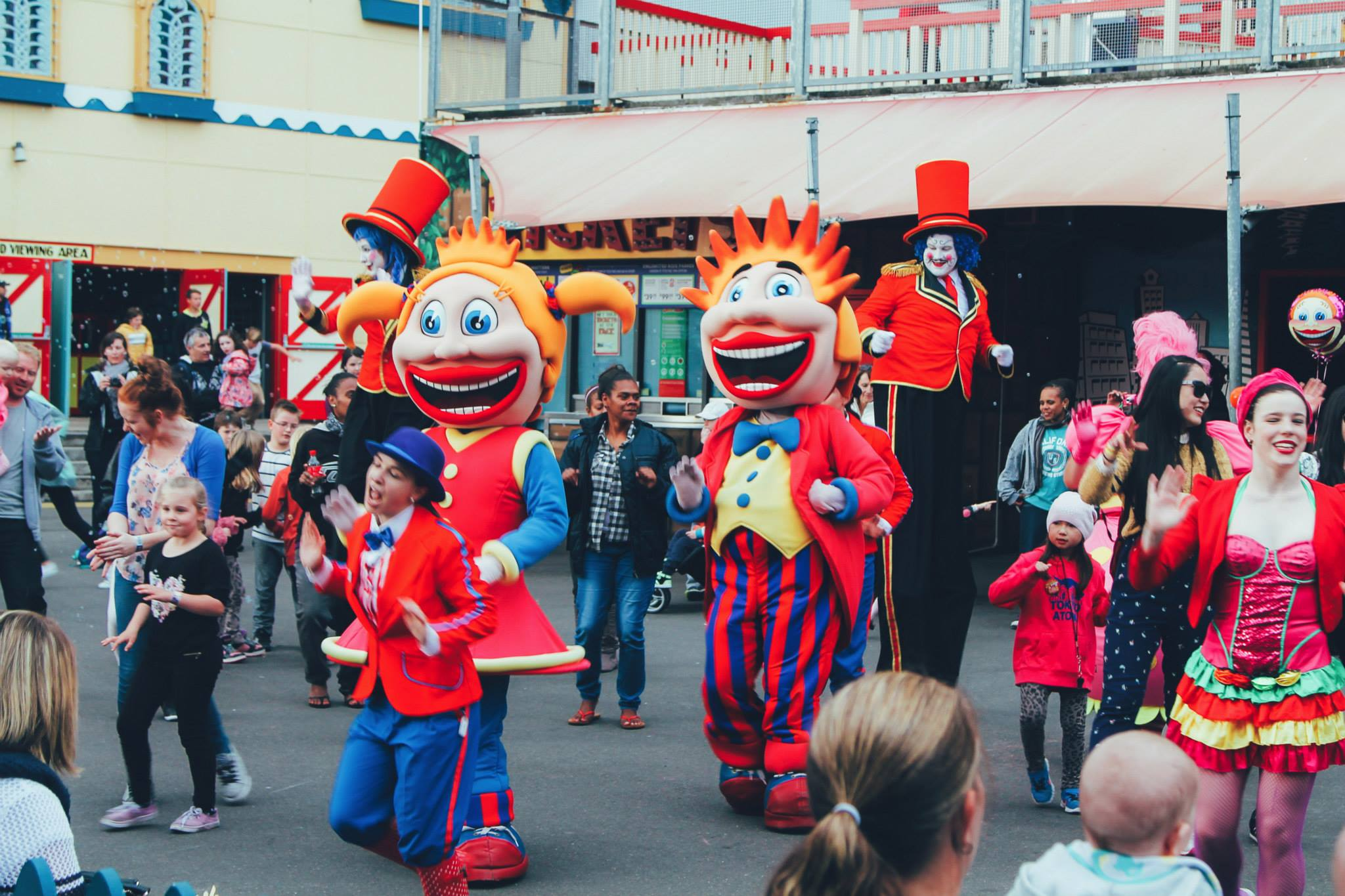 (FREE-ish) Things To Do In Sydney, Australia: Spend an afternoon in Luna Park! (4)