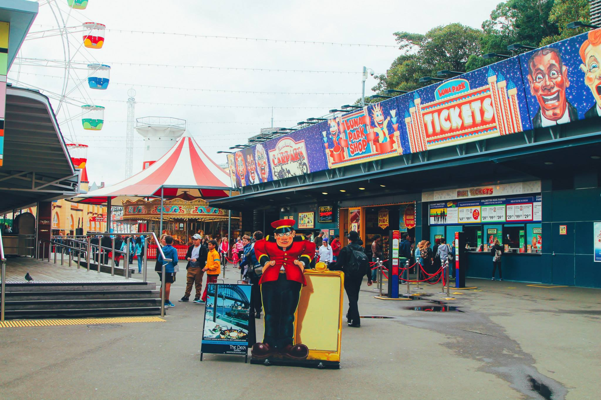 (FREE-ish) Things To Do In Sydney, Australia: Spend an afternoon in Luna Park! (7)
