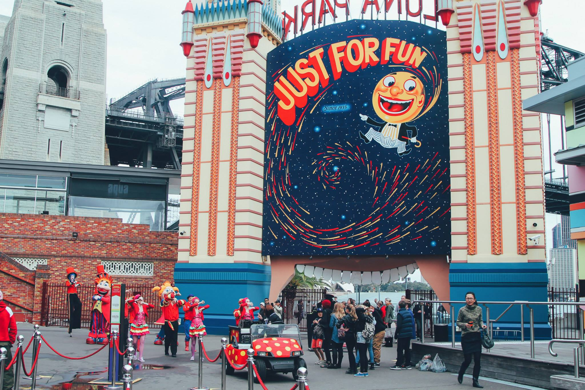 (FREE-ish) Things To Do In Sydney, Australia: Spend an afternoon in Luna Park! (9)