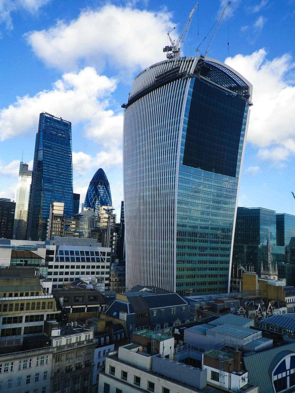 Sky Gardens, London, 20 Fenchurch Street, Rhubard, Amazing Views Of London (2)