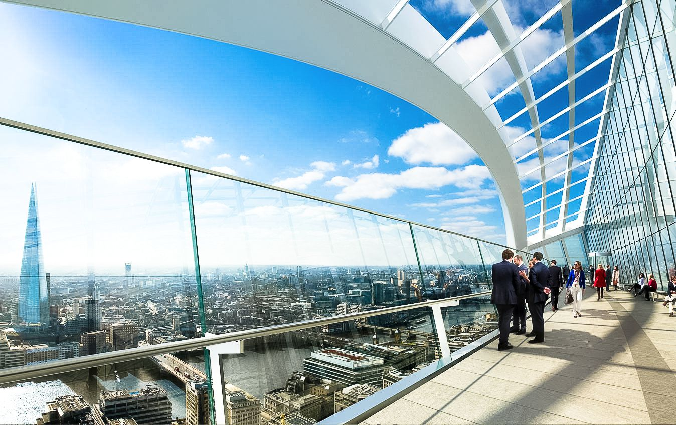 Sky Gardens, London, 20 Fenchurch Street, Rhubard, Amazing Views Of London (1)