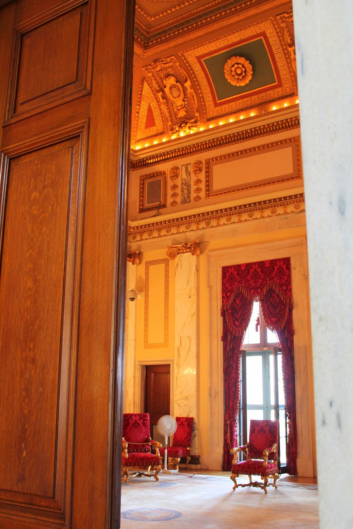Gate-Crashing A Meeting In A Government State House… in Providence, Rhode Island, USA (17)