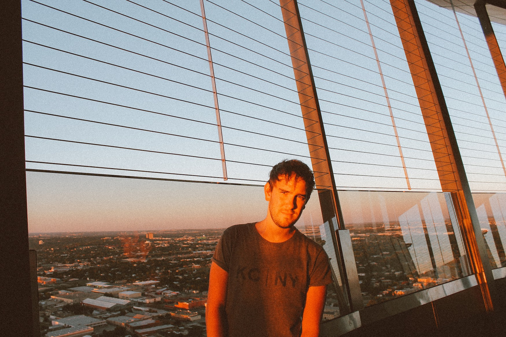 Sunset in San Antonio at The Tower of The Americas (8)