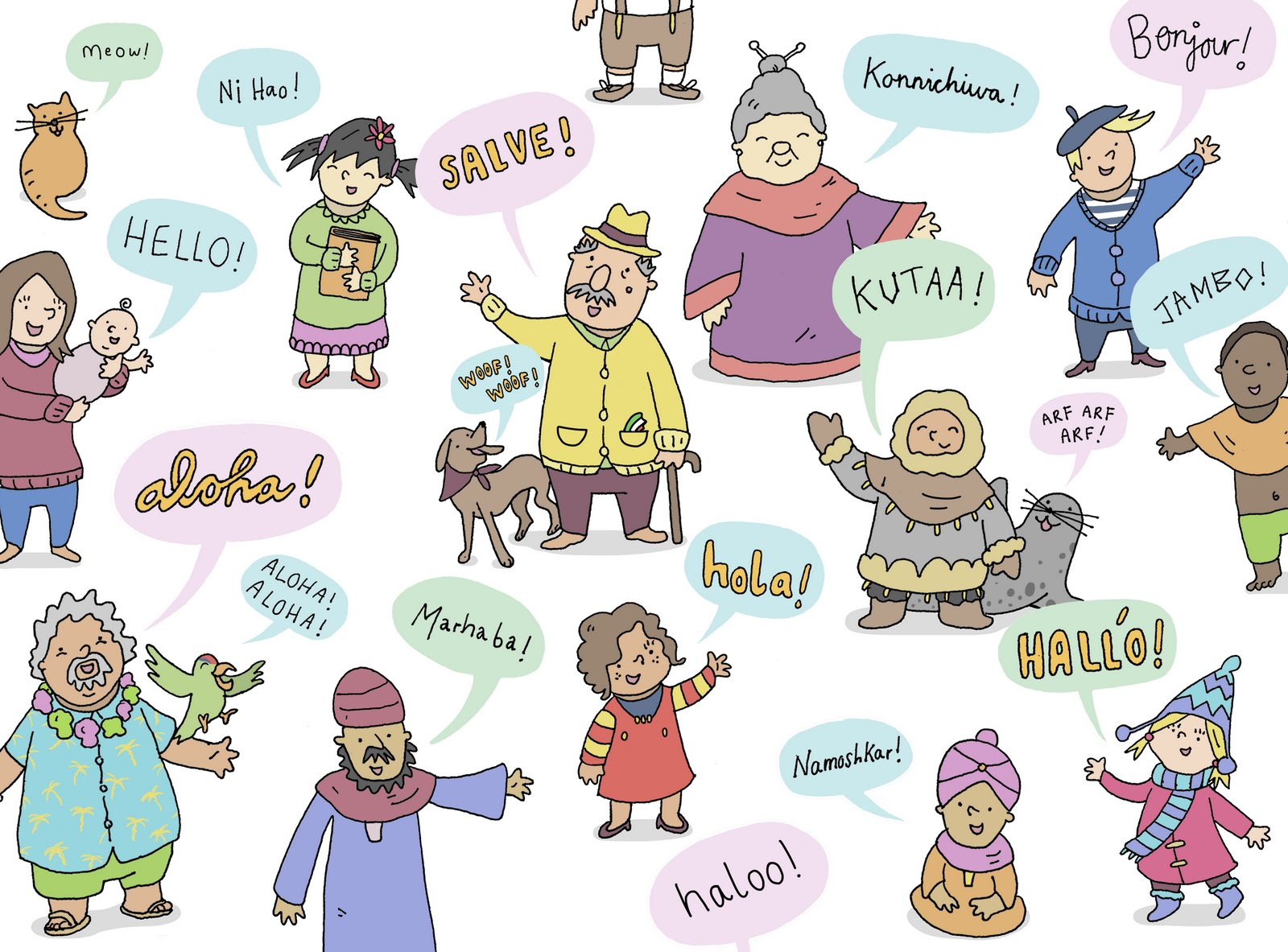 How To Say Hello In 40 European Languages Hand Luggage Only