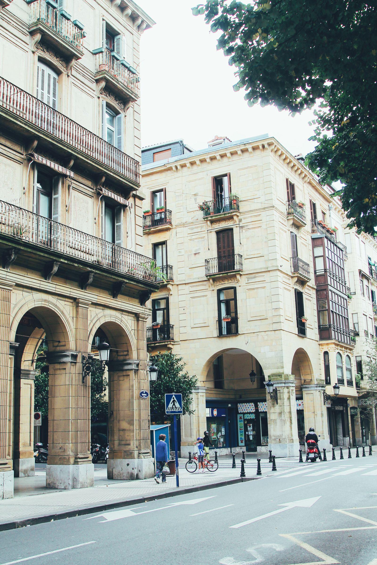 The Most Beautiful City in Spain. San Sebastian, Gipuzkoa, Spain, Hotel Londres (3)