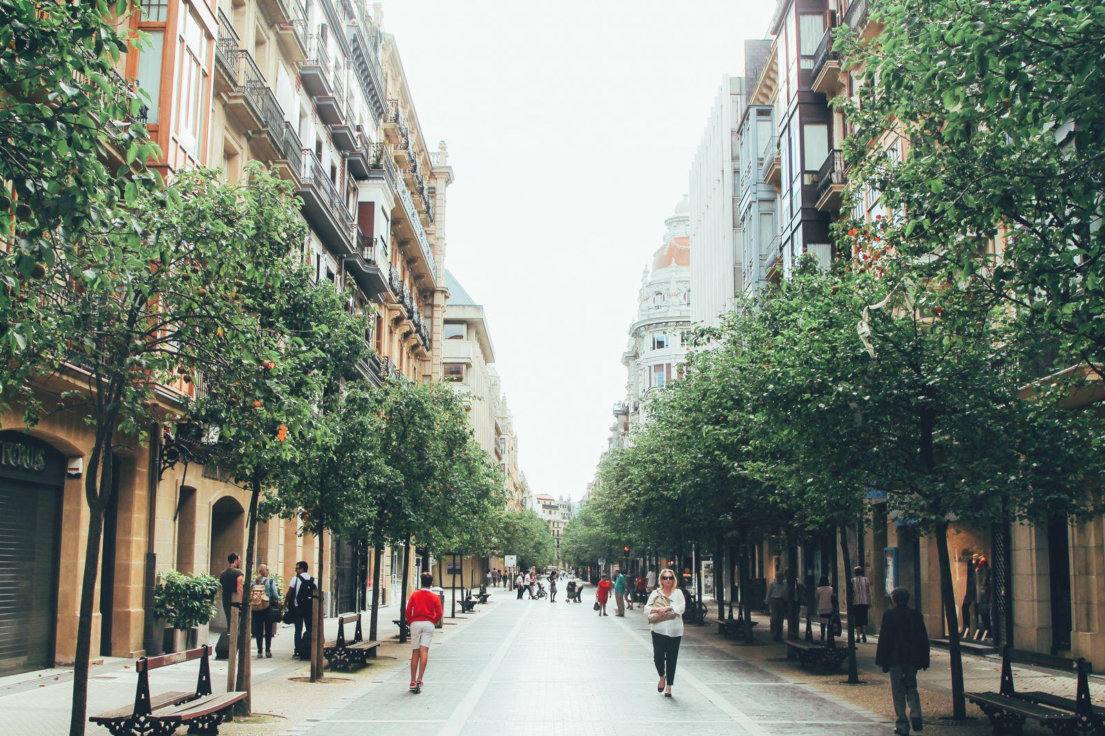 The Most Beautiful City in Spain. San Sebastian, Gipuzkoa, Spain, Hotel Londres (6)