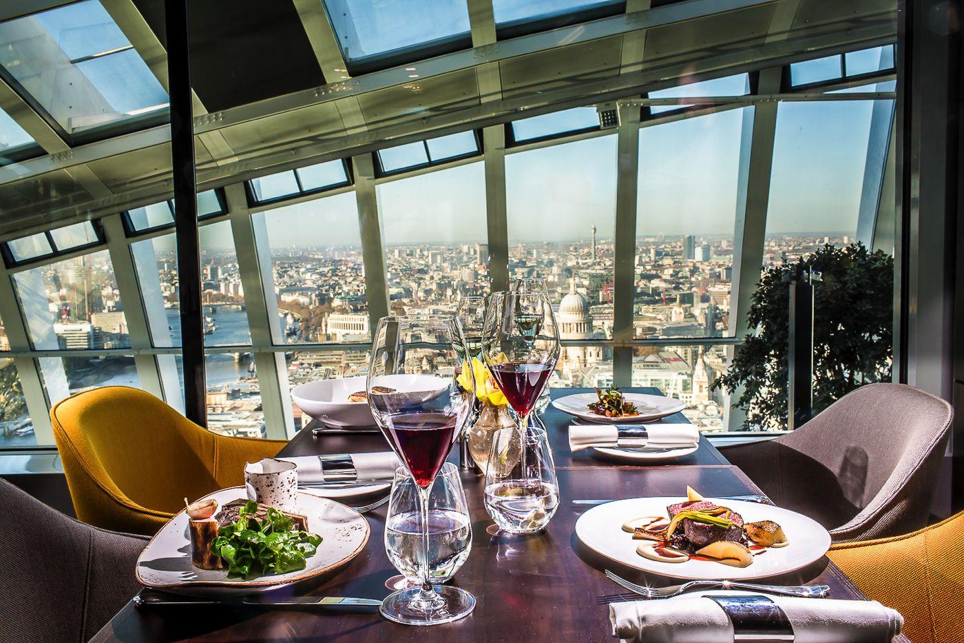 Sky Gardens, London, 20 Fenchurch Street, Rhubard, Amazing Views Of London (9)