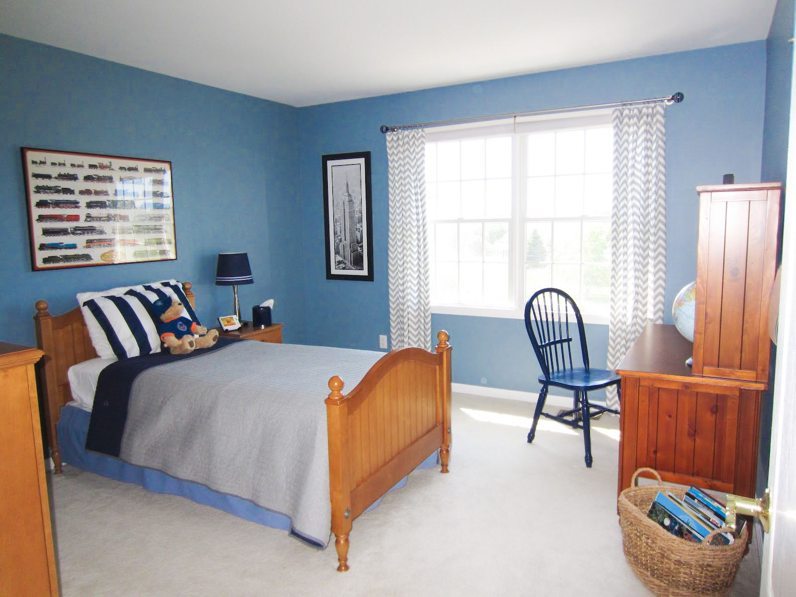 12 Blue Homes That Will Give You (And Me) A Major Case Of Home Envy! (9)