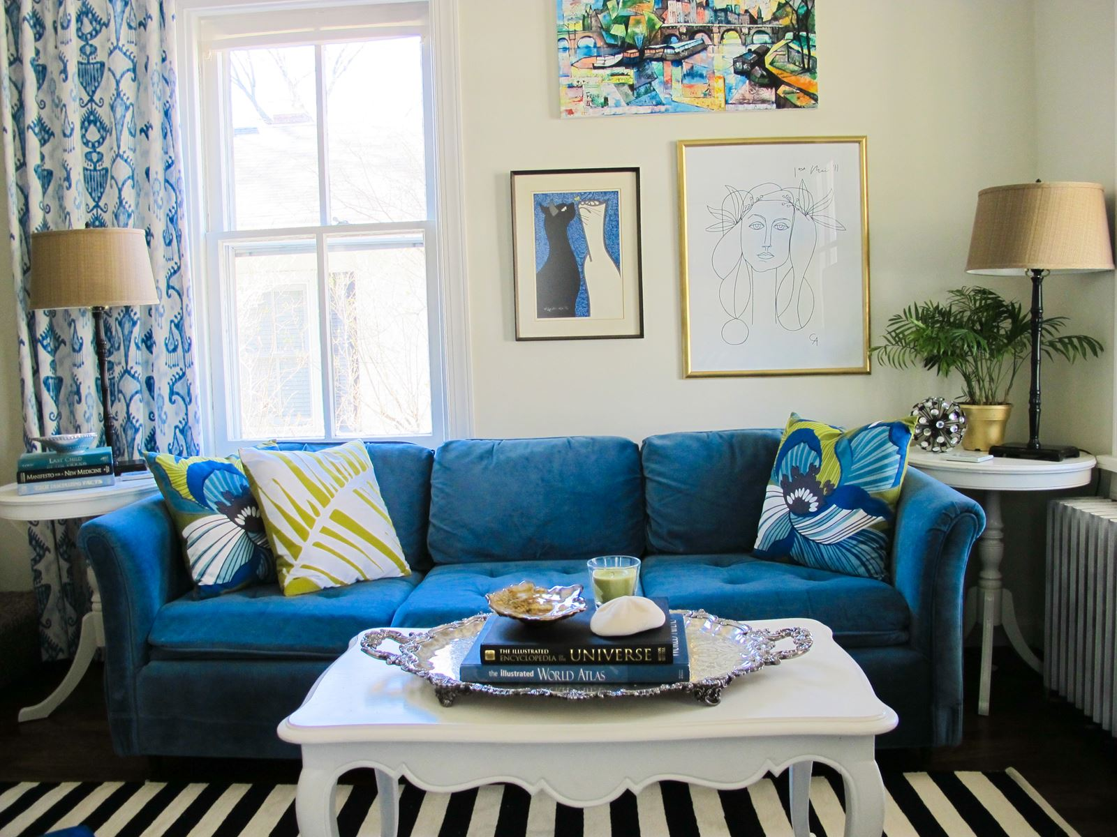12 Blue Homes That Will Give You (And Me) A Major Case Of Home Envy! (8)