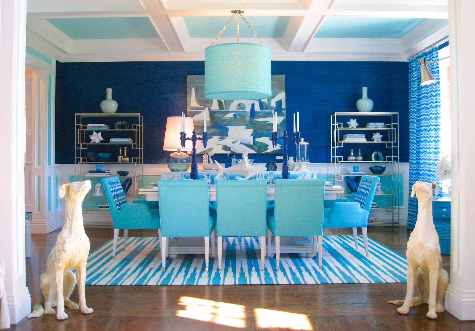 12 Blue Homes That Will Give You (And Me) A Major Case Of Home Envy! (6)