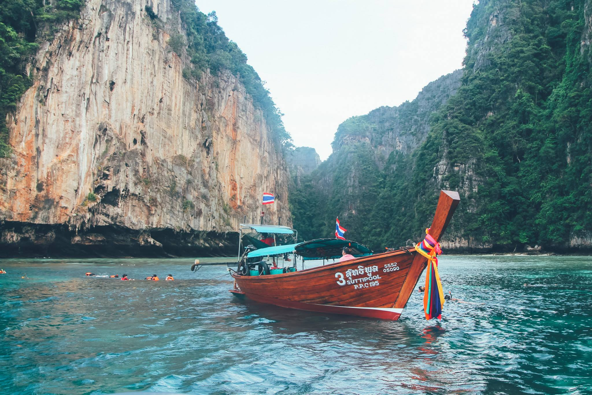 Boat in Phi Phi Island, Thailand