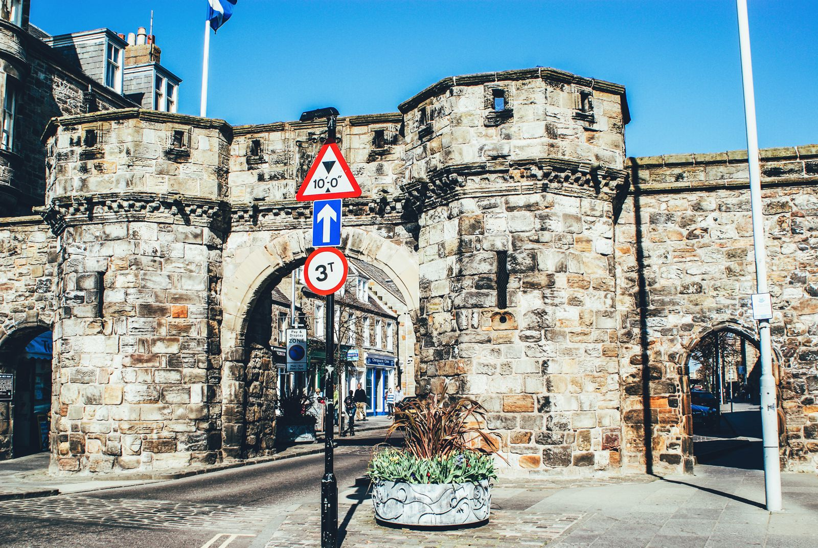 Walking Around St Andrews, Scotland, United Kingdom (1)