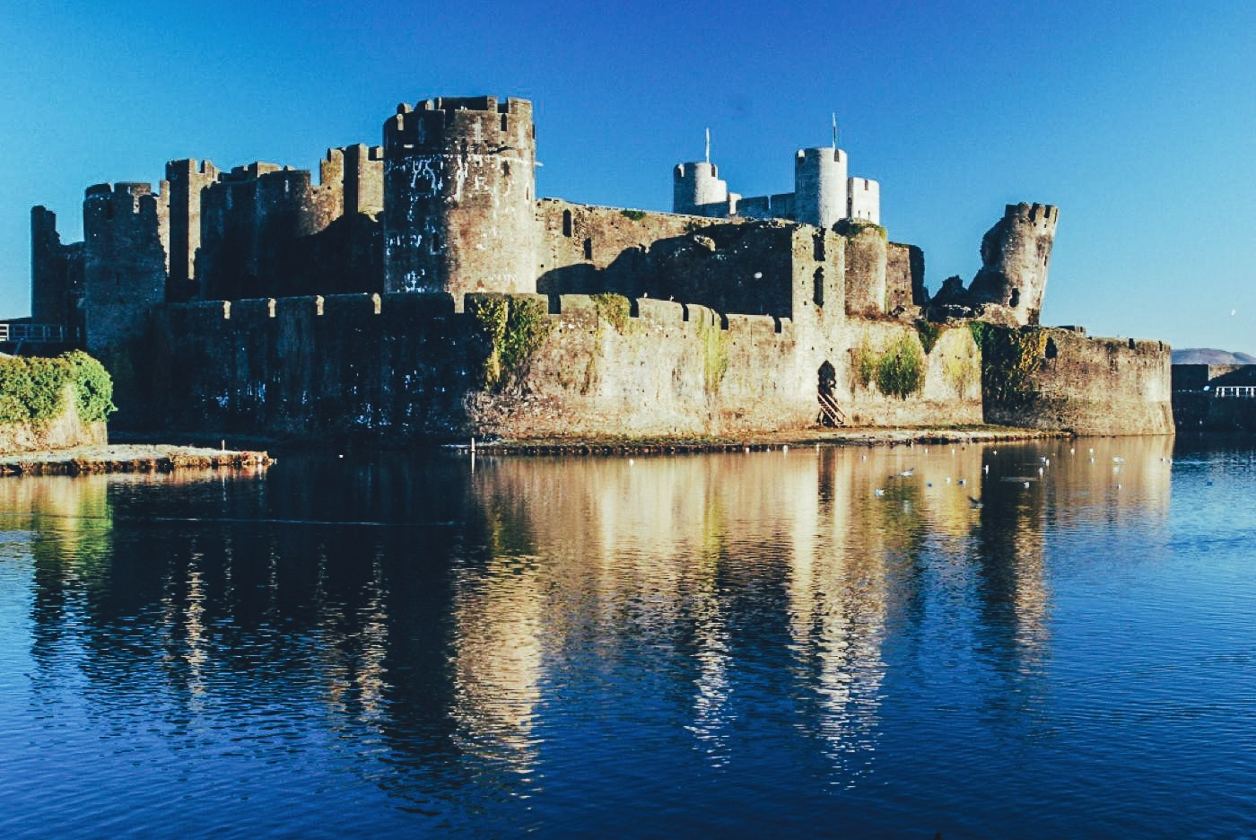 16 Fairytale Castles You Must See in Wales! Beaumaris Castle Caernarfon Castle Caerphilly Castle Carreg Cennen Castle Castell Coch Chepstow Castle Conwy Castle Criccieth Castle Denbigh Castle Dolwyddelan Castle Harlech Castle Kidwelly Castle Raglan Castle St Davids Bishop's Palace Tintern Abbey Tretower Court & Castle Weobley Castle (3)