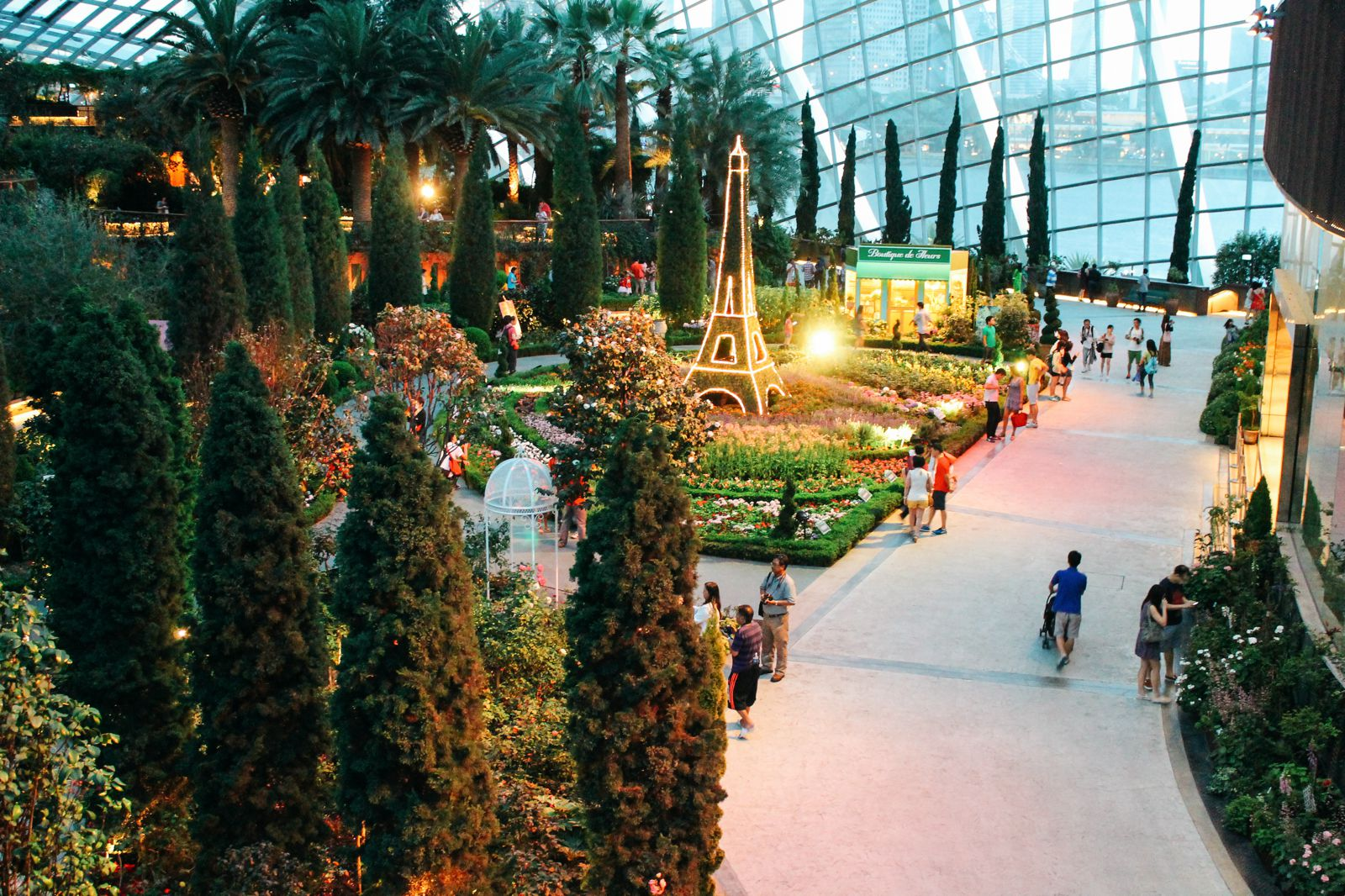 Under The Dome And Into The Forest... In Singapore, Flower Dome and Cloud Forest, Gardens By The Bay (21)
