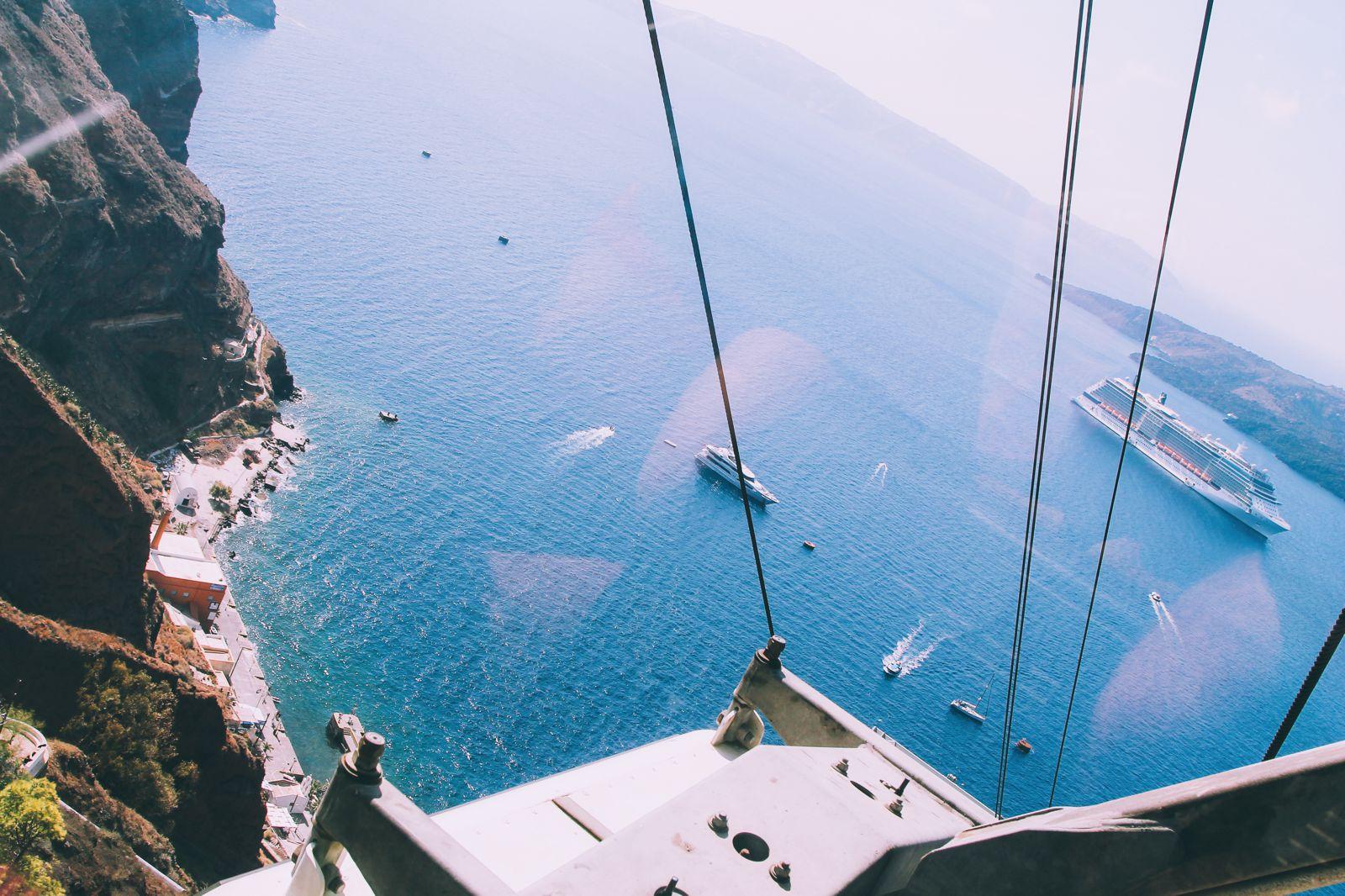 Conquering Volcanos in Santorini, Caldera, Sailing, Boat Trip, Greece (4)
