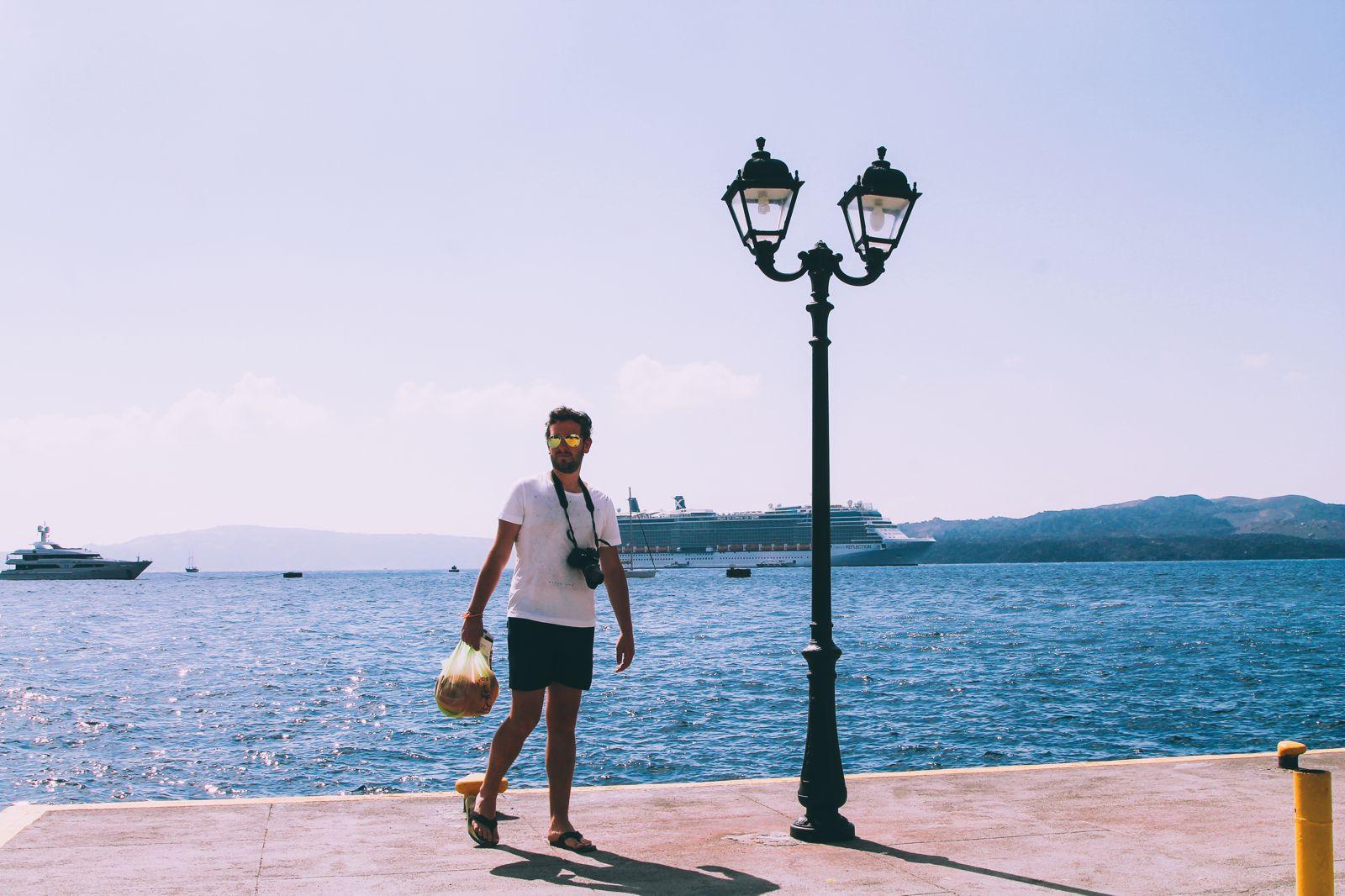 Conquering Volcanos in Santorini, Caldera, Sailing, Boat Trip, Greece (8)