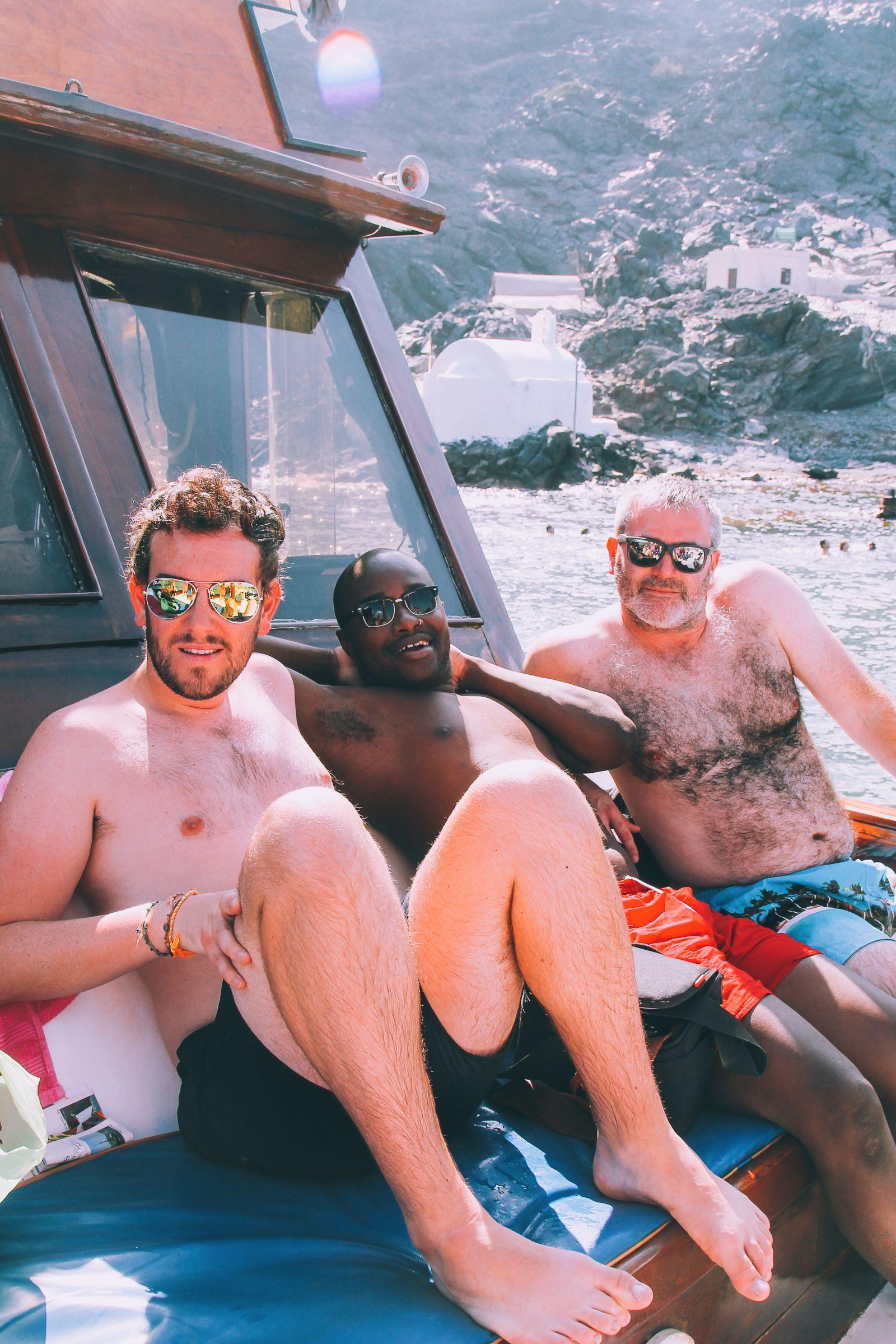 Conquering Volcanos in Santorini, Caldera, Sailing, Boat Trip, Greece (15)