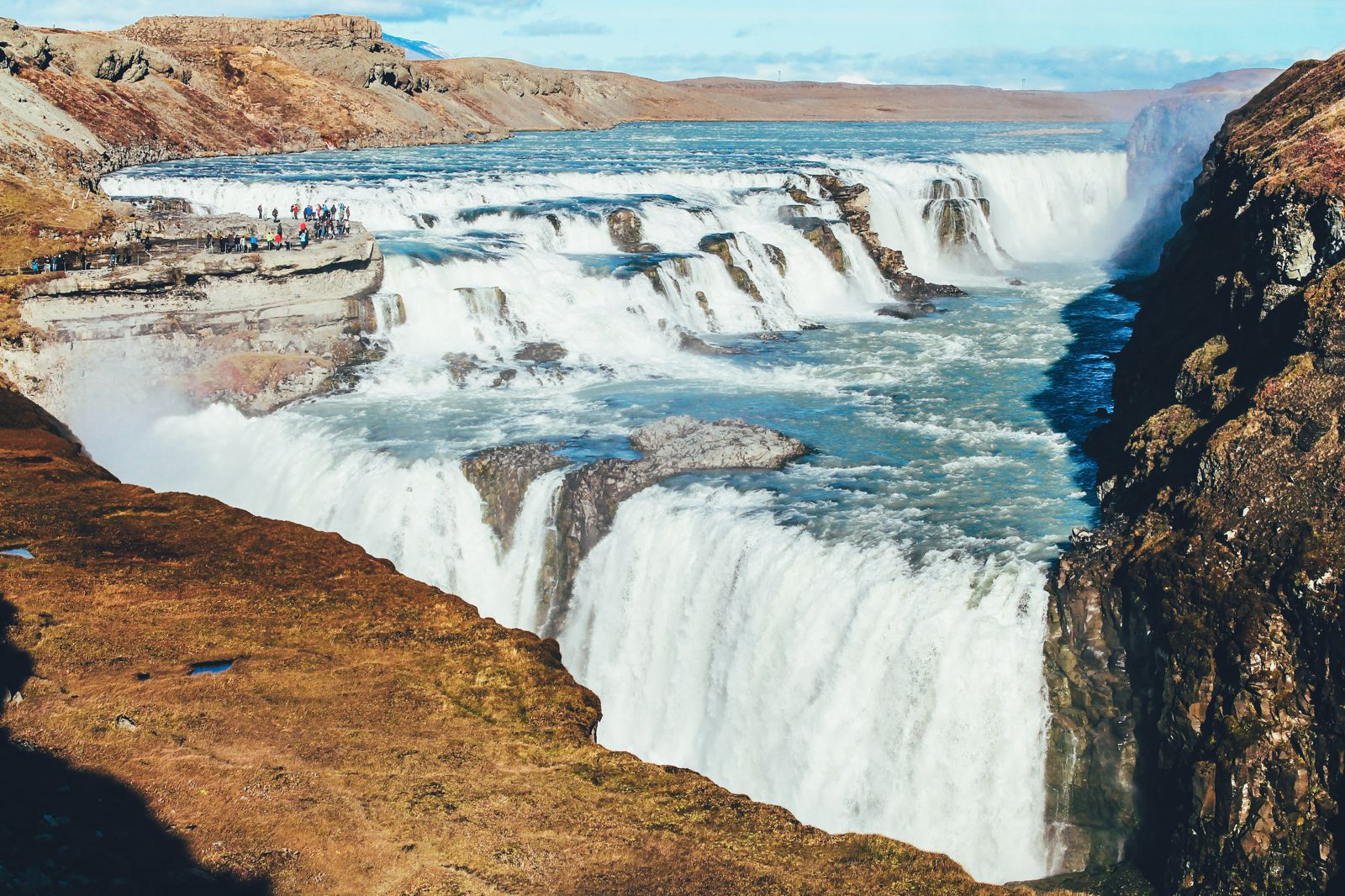Iceland Waterfall Perfect For All Seasons See The Great Brúarfoss