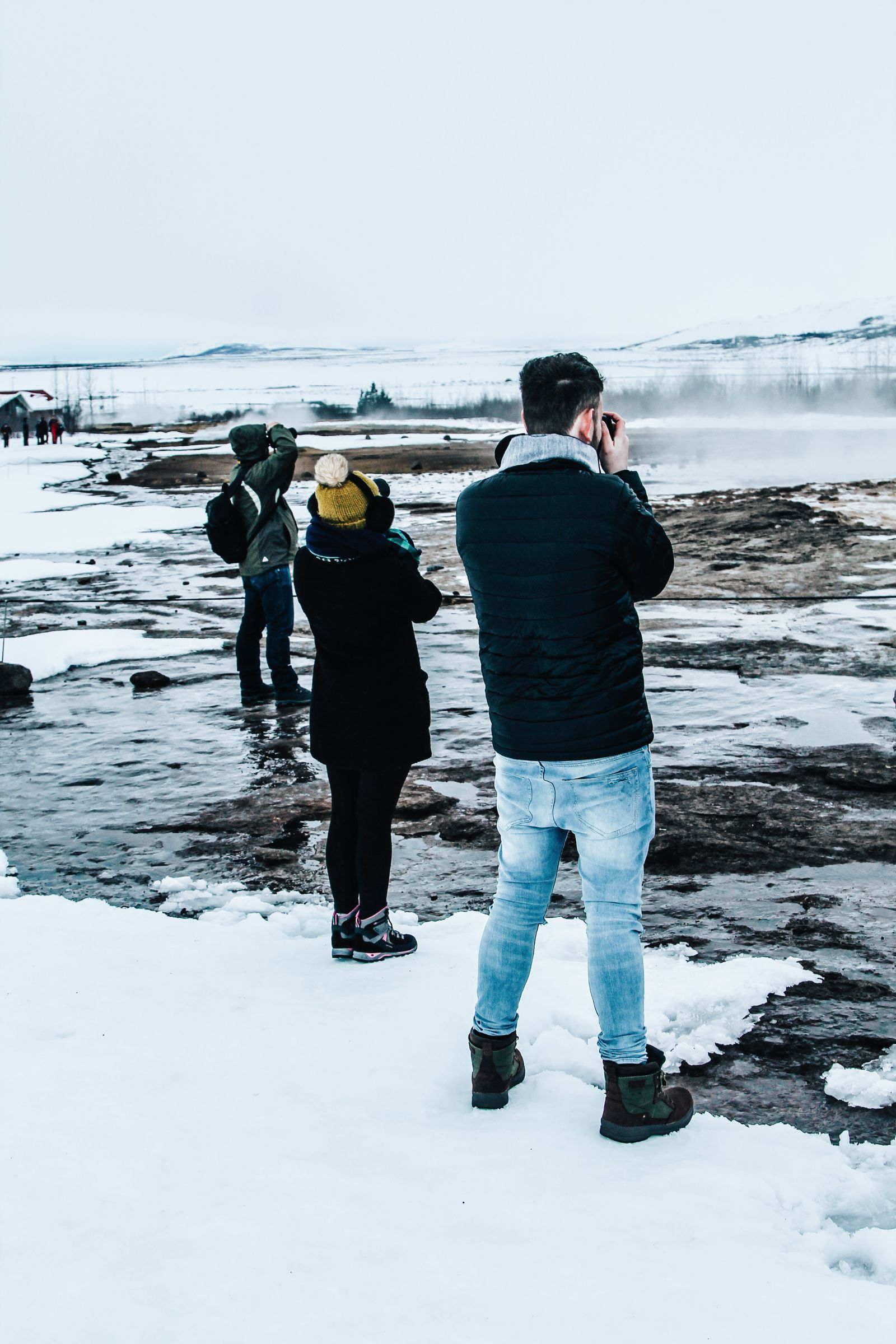 The 1st Day in The Land Of Fire and Ice - Iceland! Lava Baking, Geo-Thermal Pools & The Golden Circle (Part 2) (18)