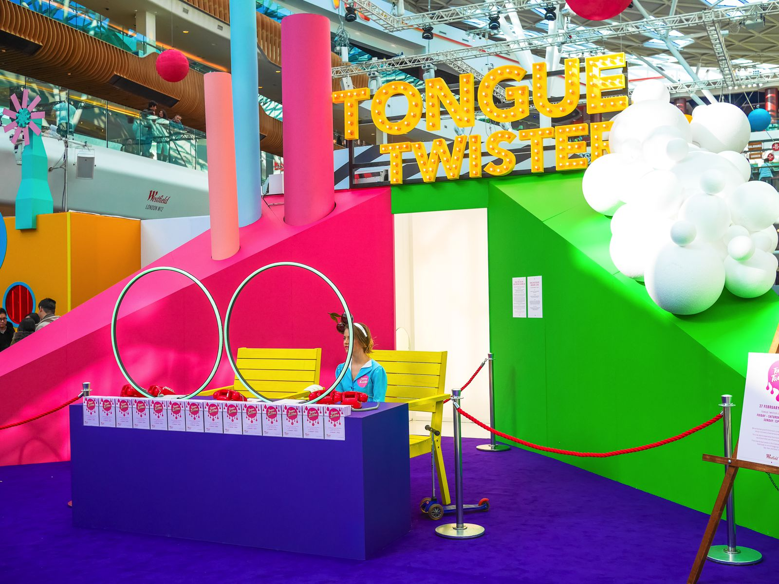 This Is A Really Fun Thing To Do In London! Tongue Twister, London, White City, Westfield (1)