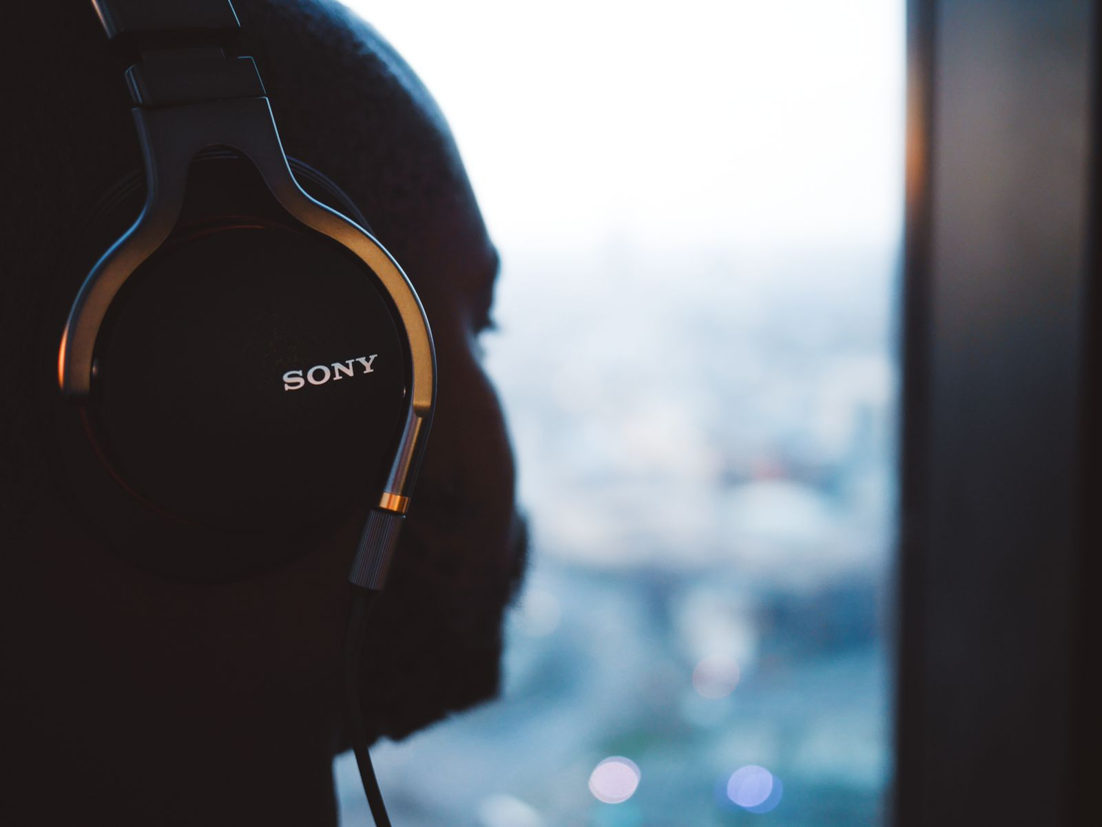 the Sony headphones (officially called the MDR-1A) and the Sony Walkman MP3 Player (officially called the NWZ-A15) (10)