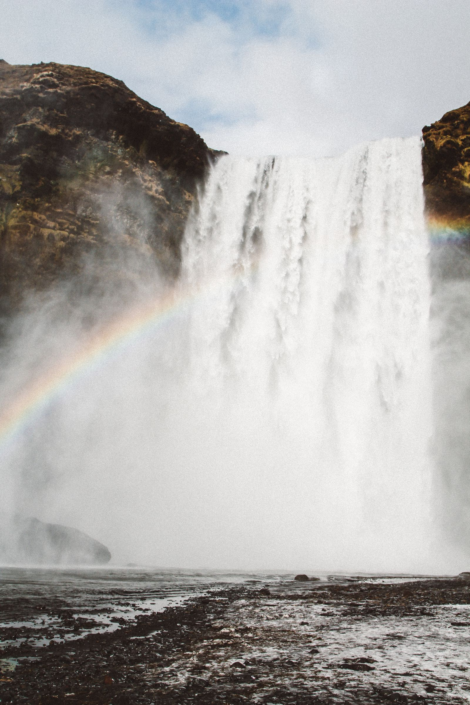 Seljalandsfoss and Skógafoss Waterfalls in Iceland plus Icelandic Lamb and rainbows (39)