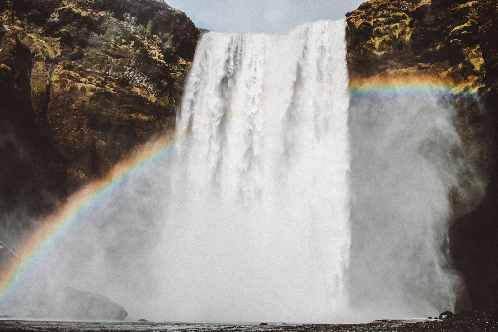 Seljalandsfoss and Skógafoss Waterfalls in Iceland plus Icelandic Lamb and rainbows (40)