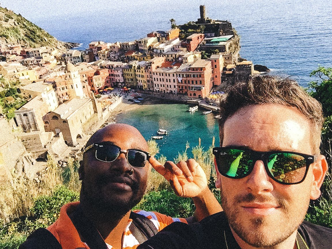 Cinque Terre, Italy, Travel on Hand Luggage Only with Yaya and Lloyd