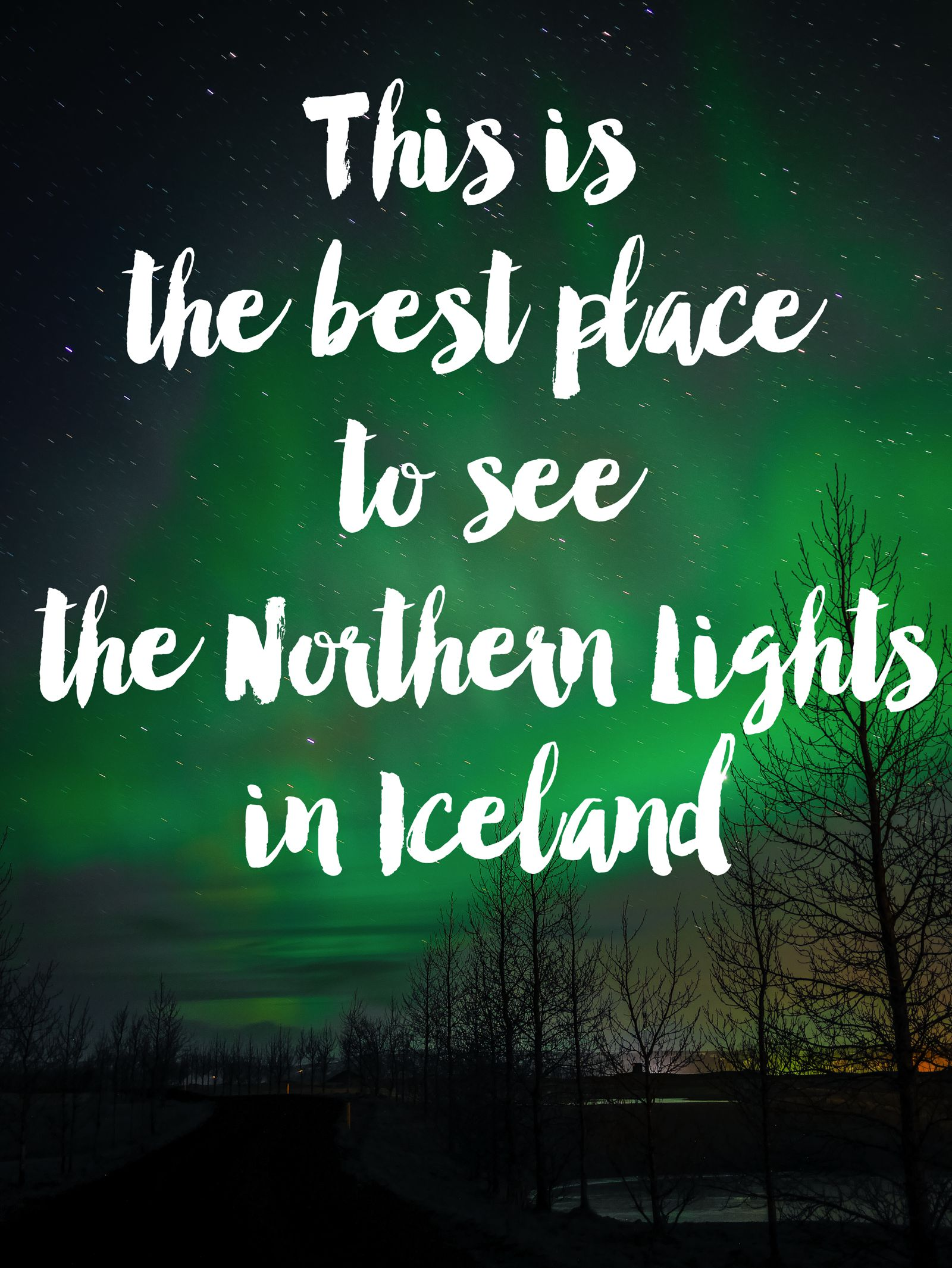 The Northern Lights In Iceland And Hotel Laki   Www.HandLuggageOnly.co.uk