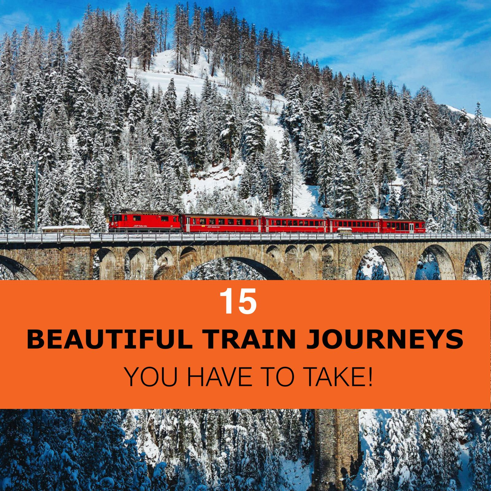 The 15 Most Beautiful Train Journeys Across The World You Have To Travel On! (57)