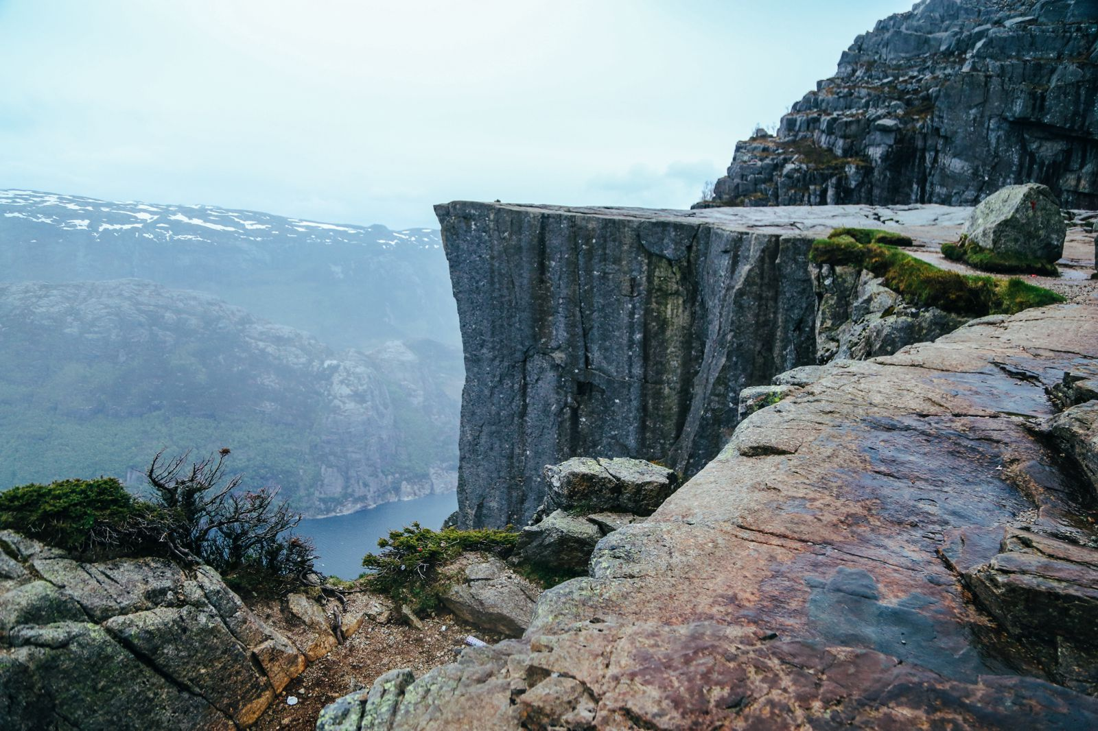 How To See The Lysefjord AND Get To The Very Edge Of Pulpit Rock In Norway! (43)
