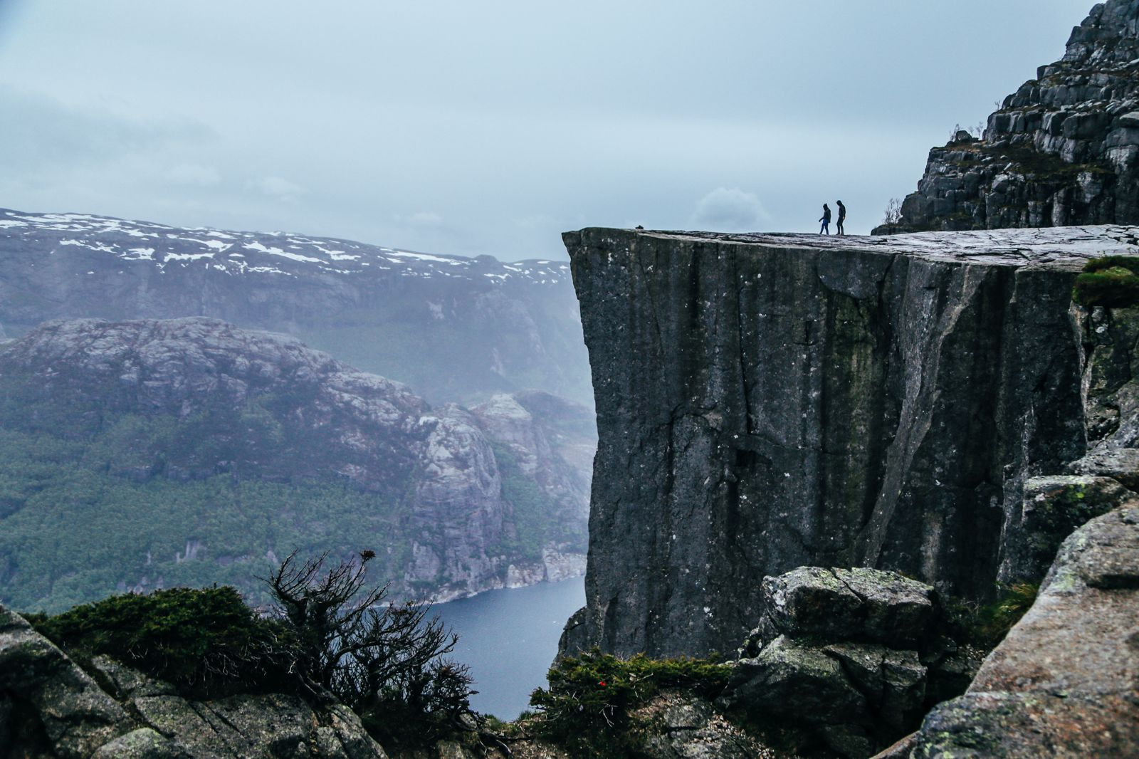 How To See The Lysefjord AND Get To The Very Edge Of Pulpit Rock In Norway! (46)