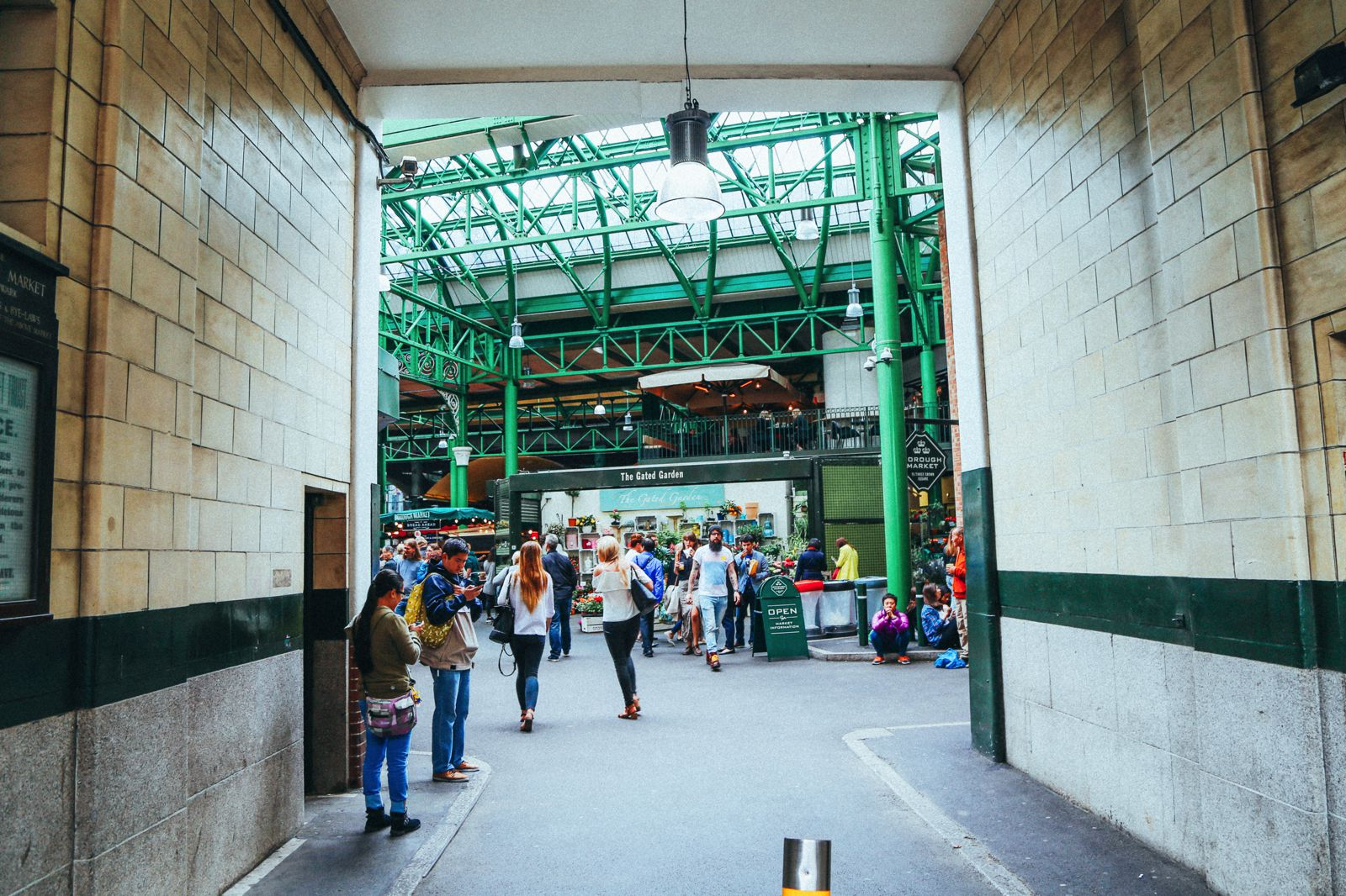 Lazy London Summer Afternoons... Borough Market and Imperial War Museum (4)