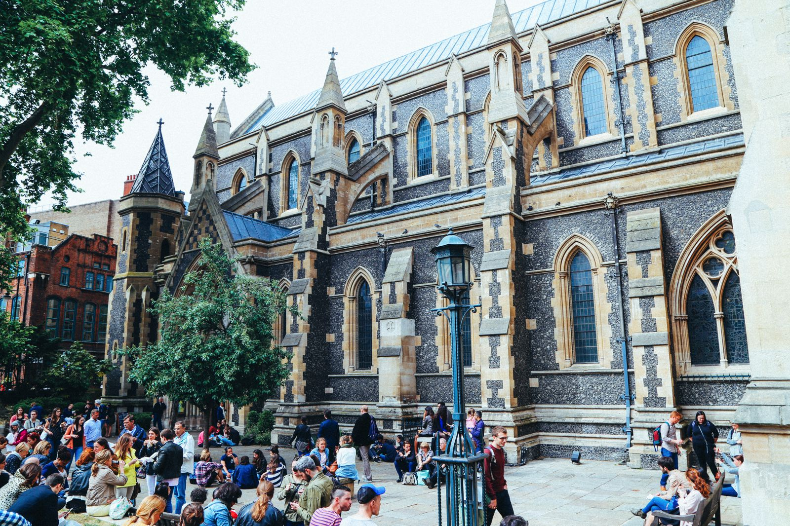 Lazy London Summer Afternoons... Borough Market and Imperial War Museum (17)