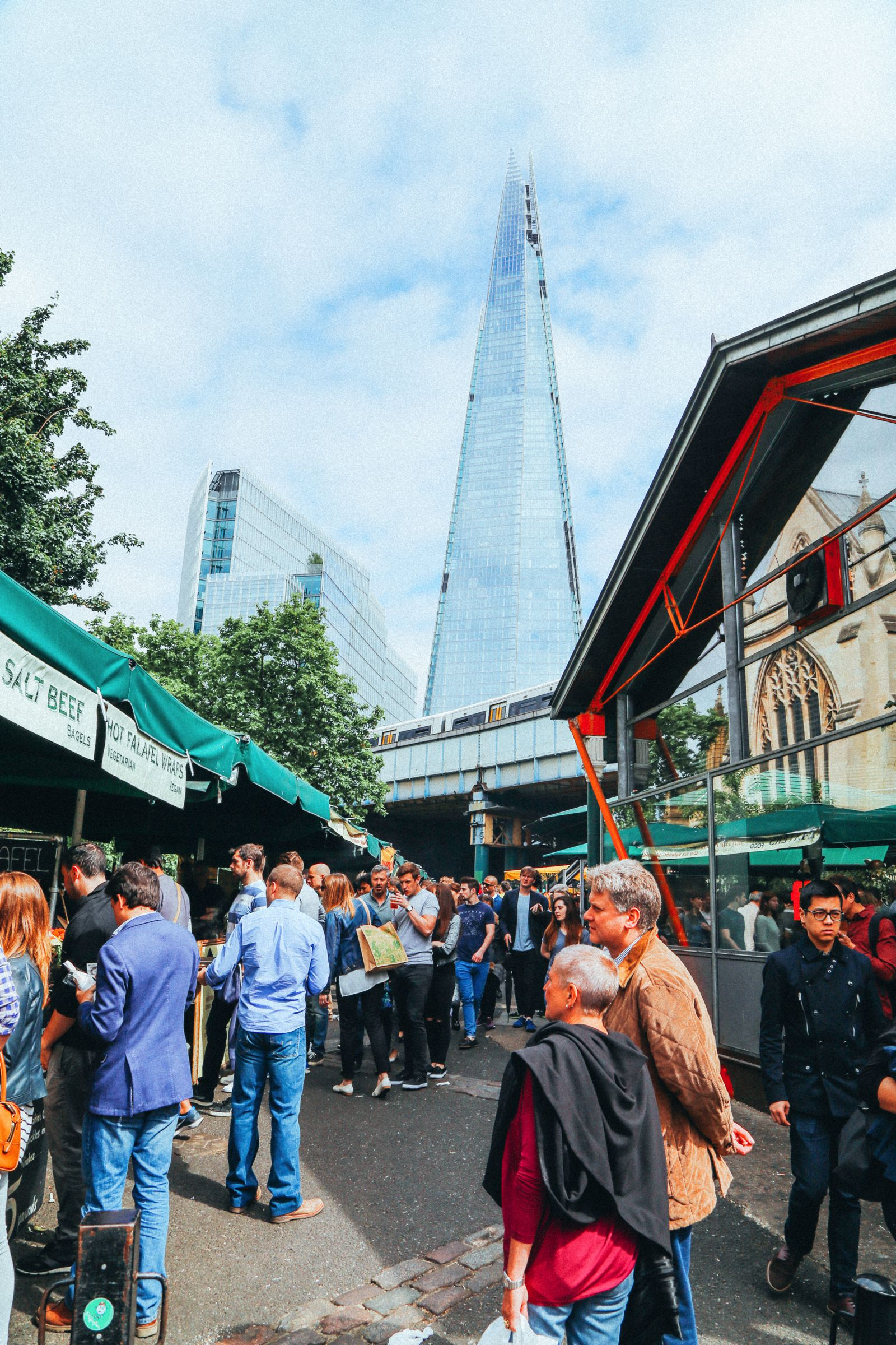 Lazy London Summer Afternoons... Borough Market and Imperial War Museum (20)