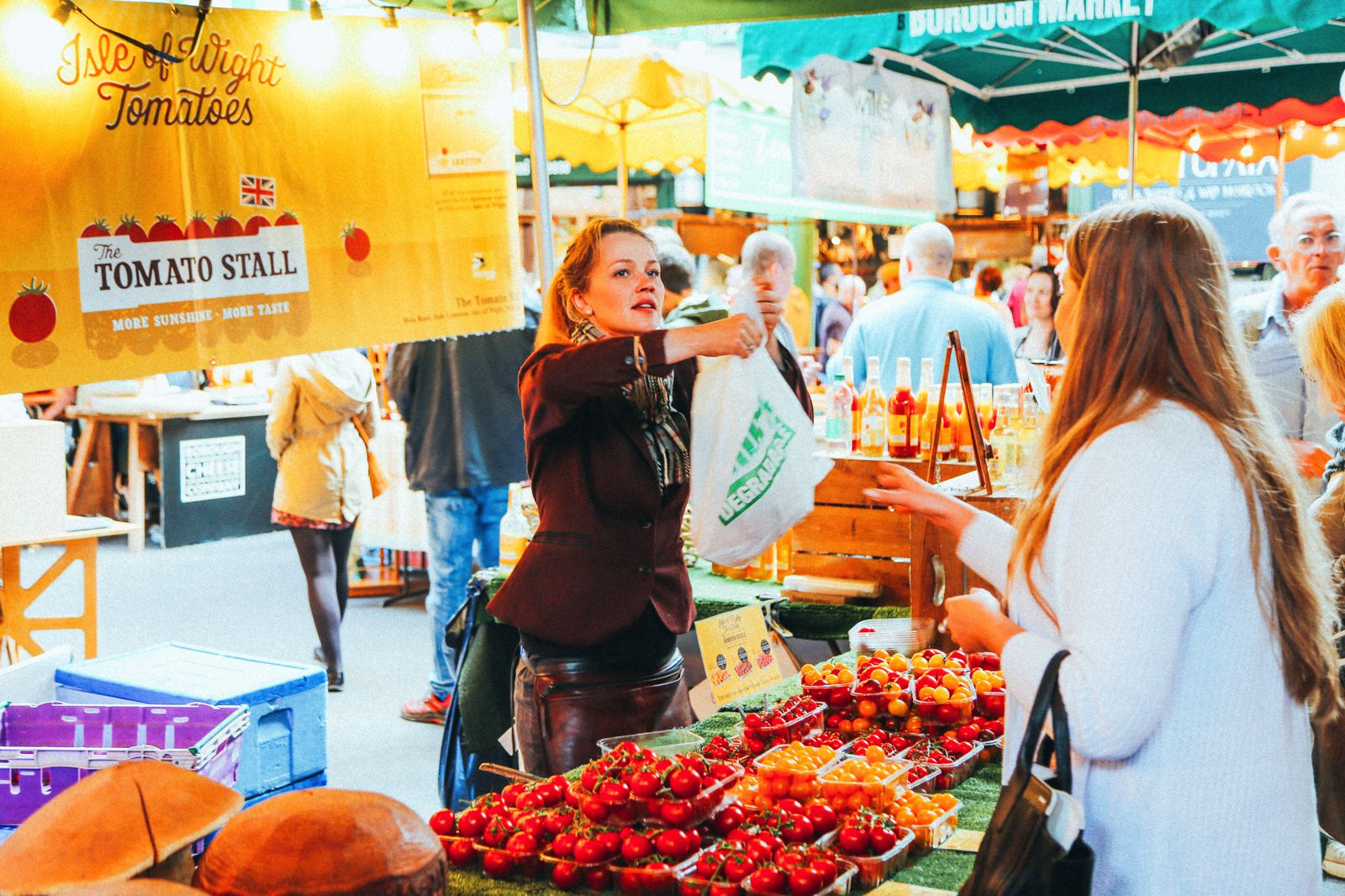 Lazy London Summer Afternoons... Borough Market and Imperial War Museum (22)