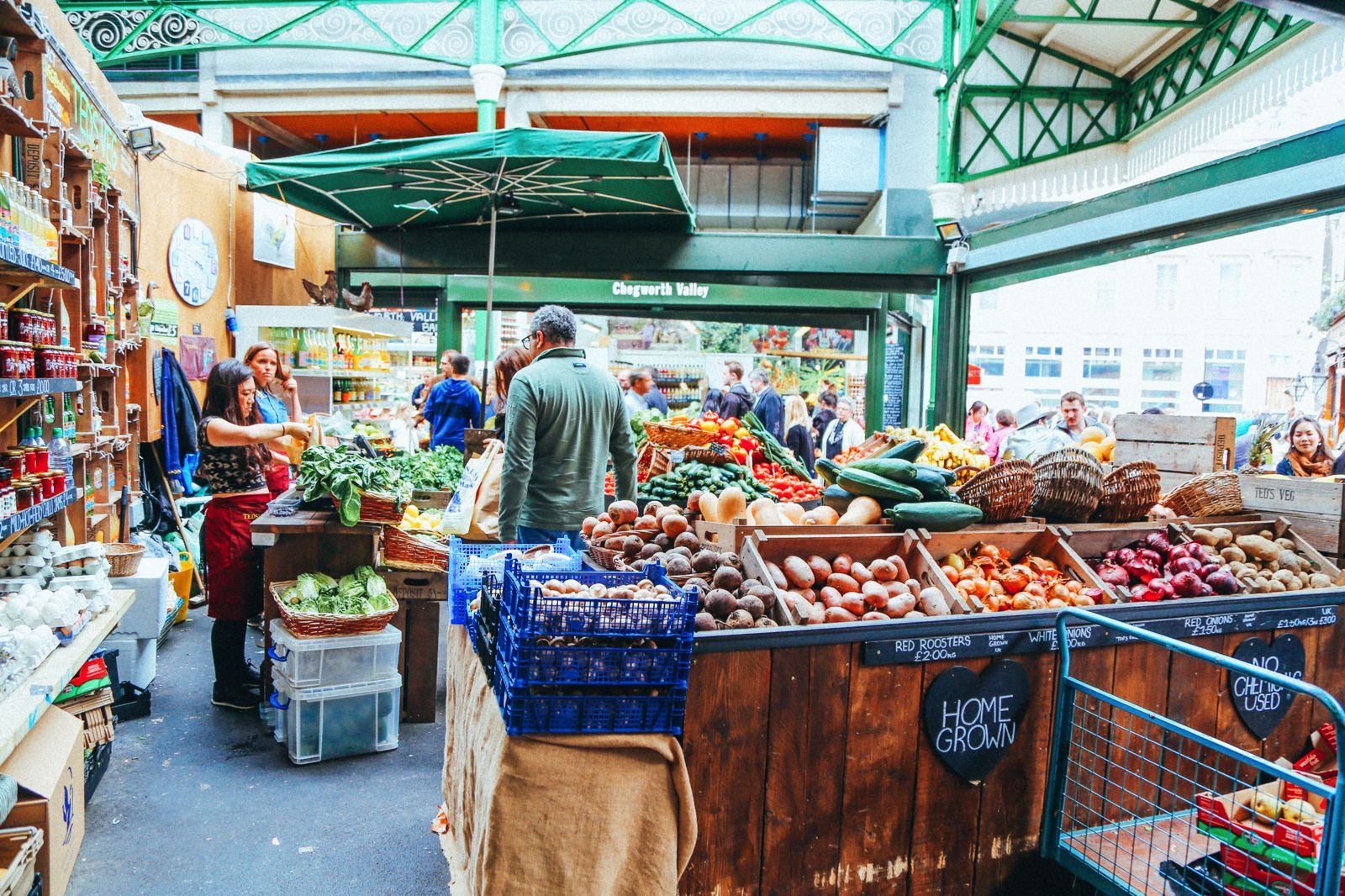 Lazy London Summer Afternoons... Borough Market and Imperial War Museum (24)