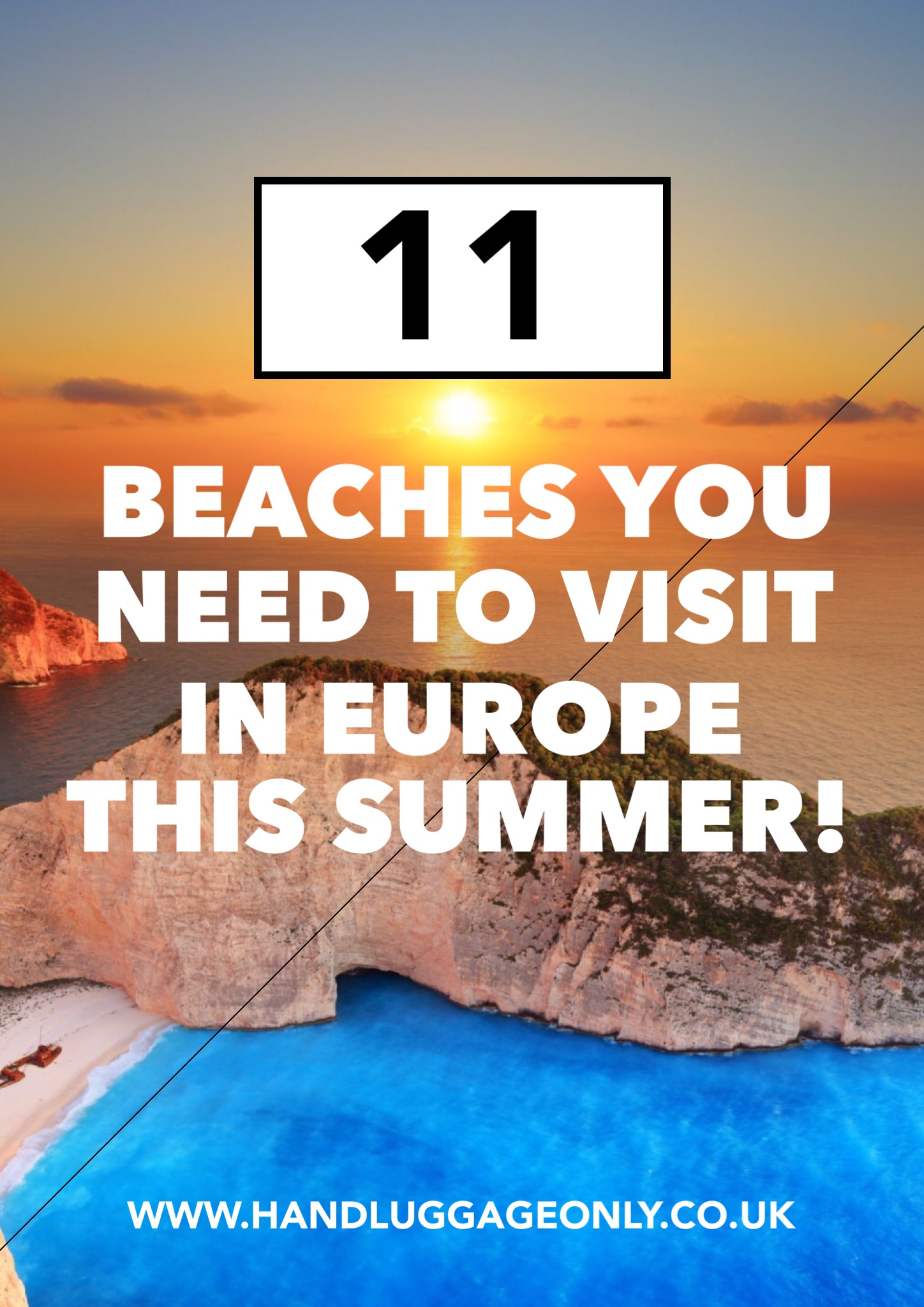11 Beaches You Need To Visit In Europe This Summer!