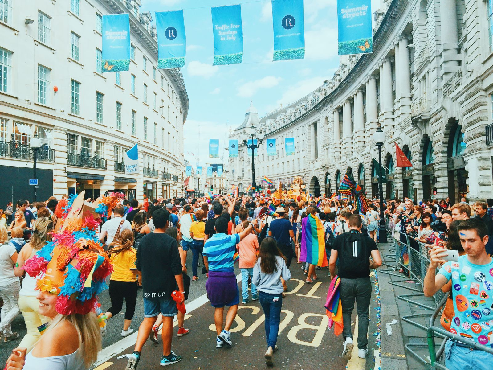 There Was A Party In London This Weekend... Pride in London (48)