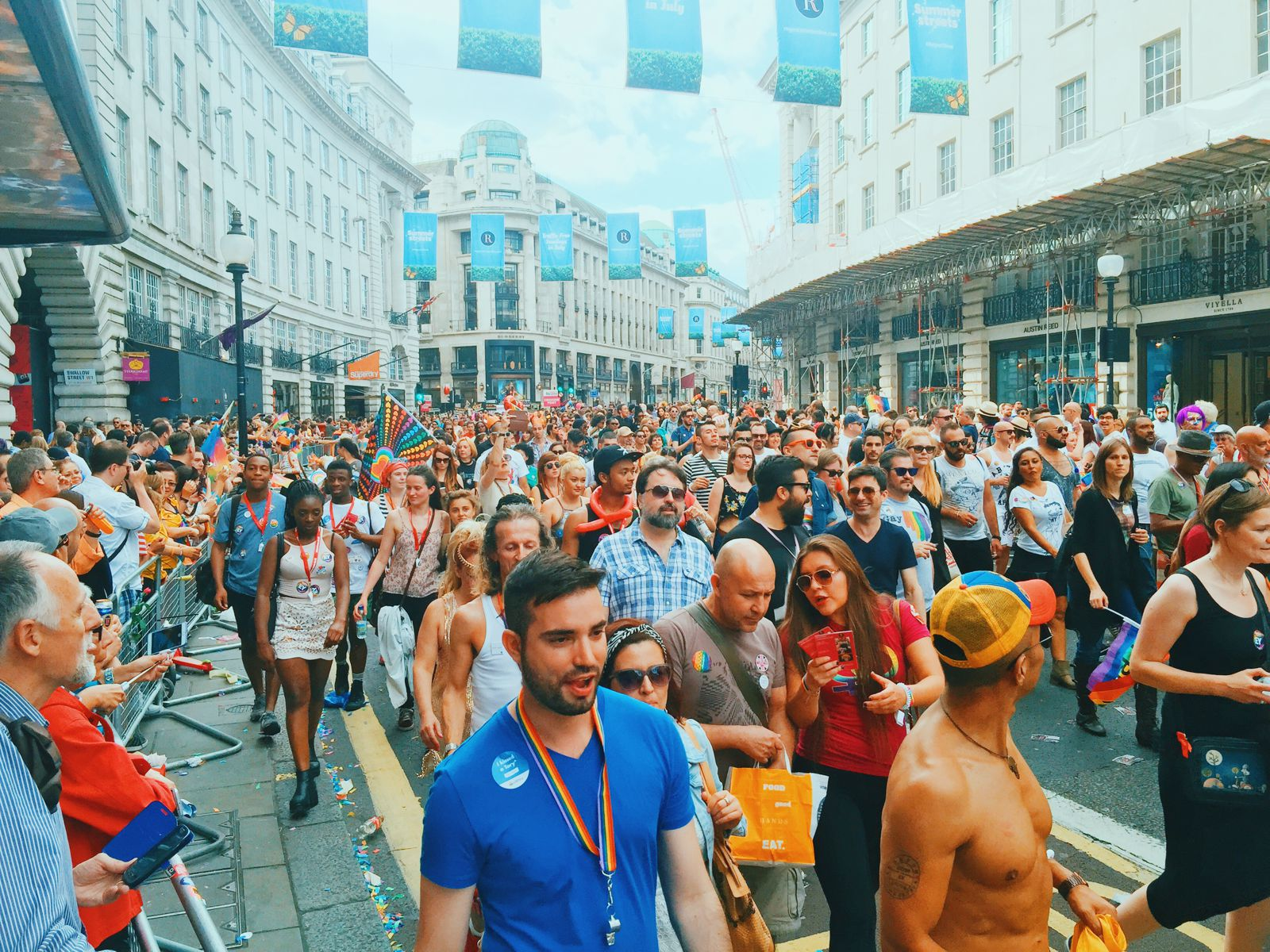 There Was A Party In London This Weekend... Pride in London (47)